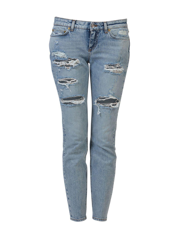Dolce & Gabbana Skinny Stretch Jeans 7791447