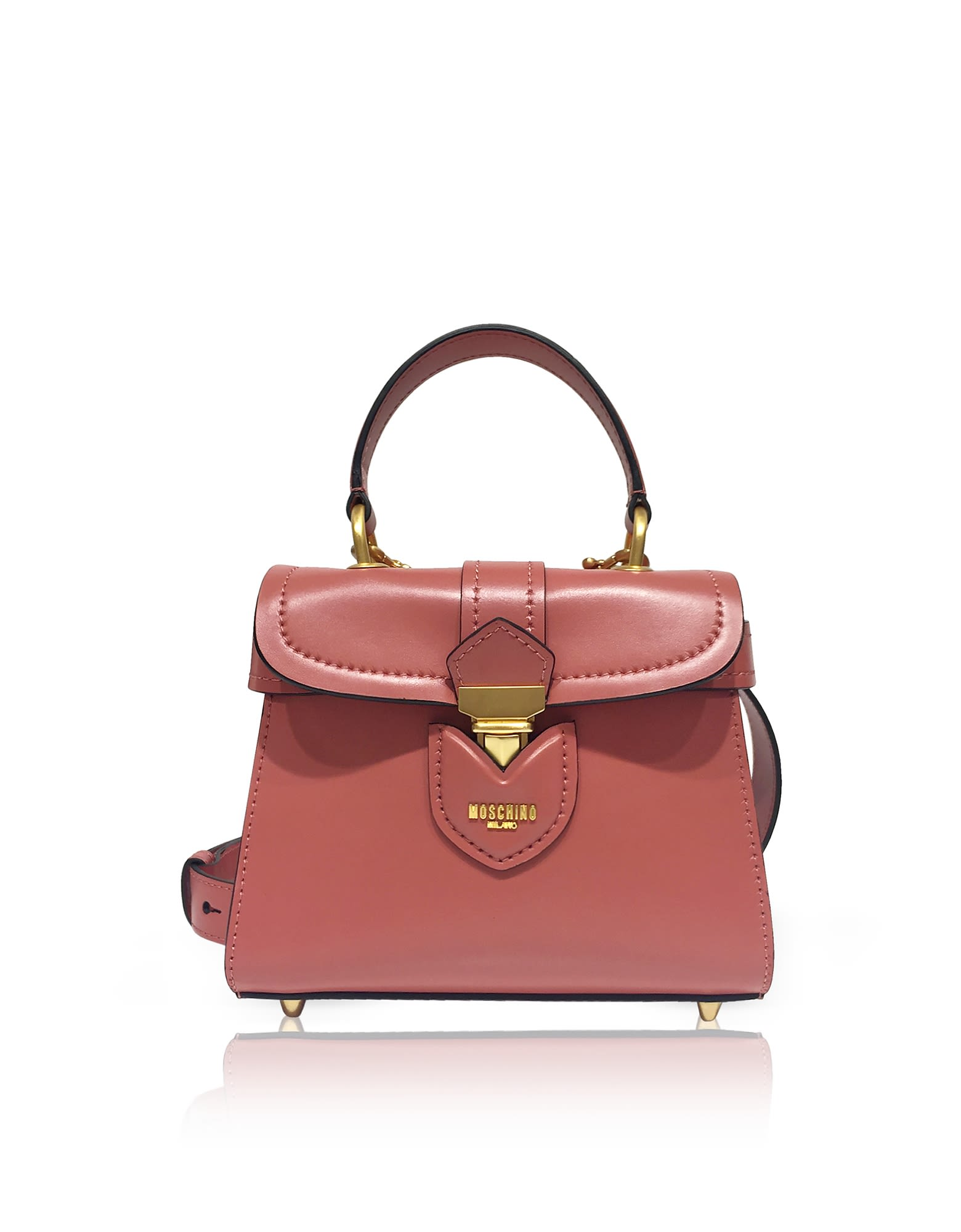 LEATHER SMALL SATCHEL BAG
