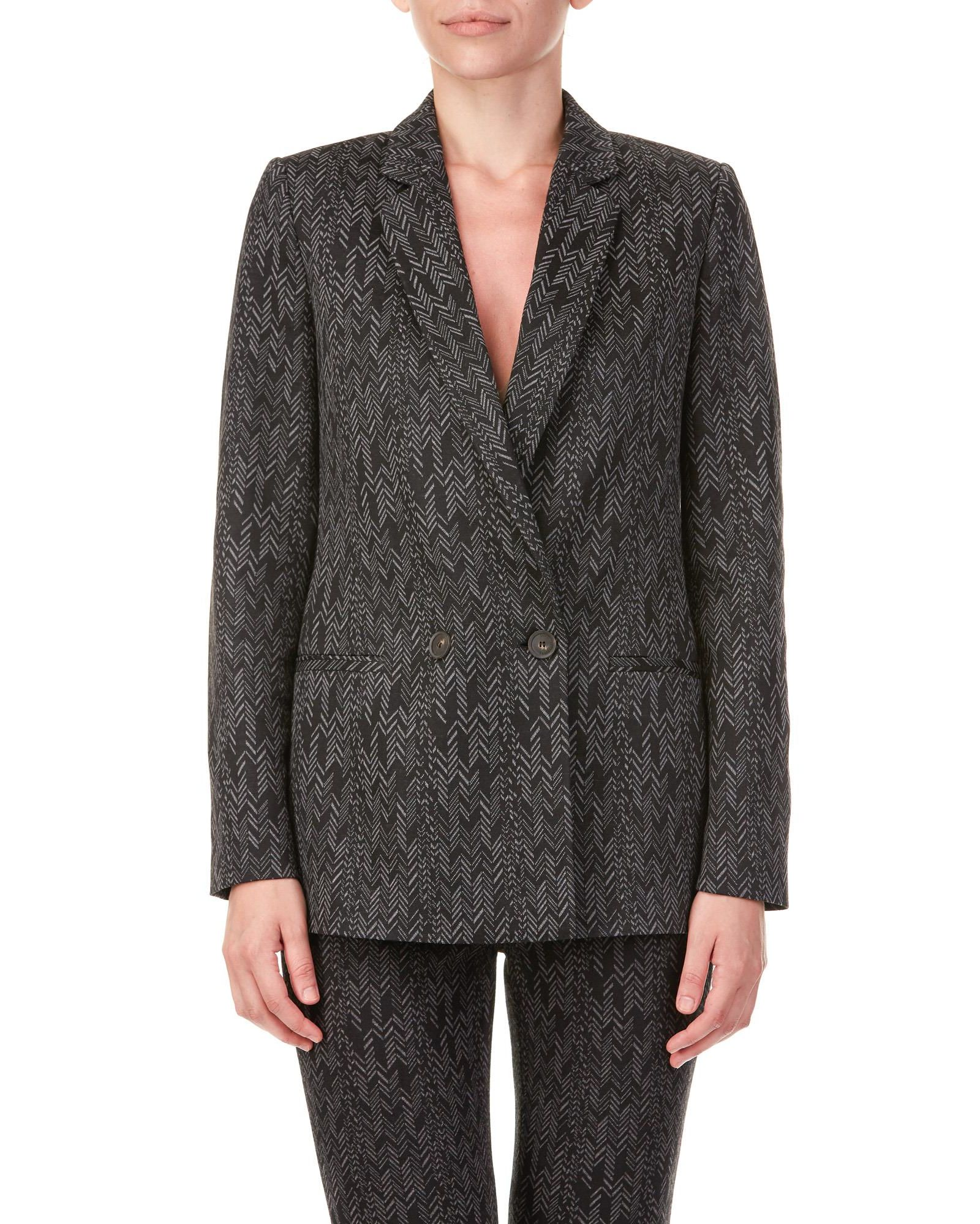 TRUSSARDI Blazer in Black - Grey