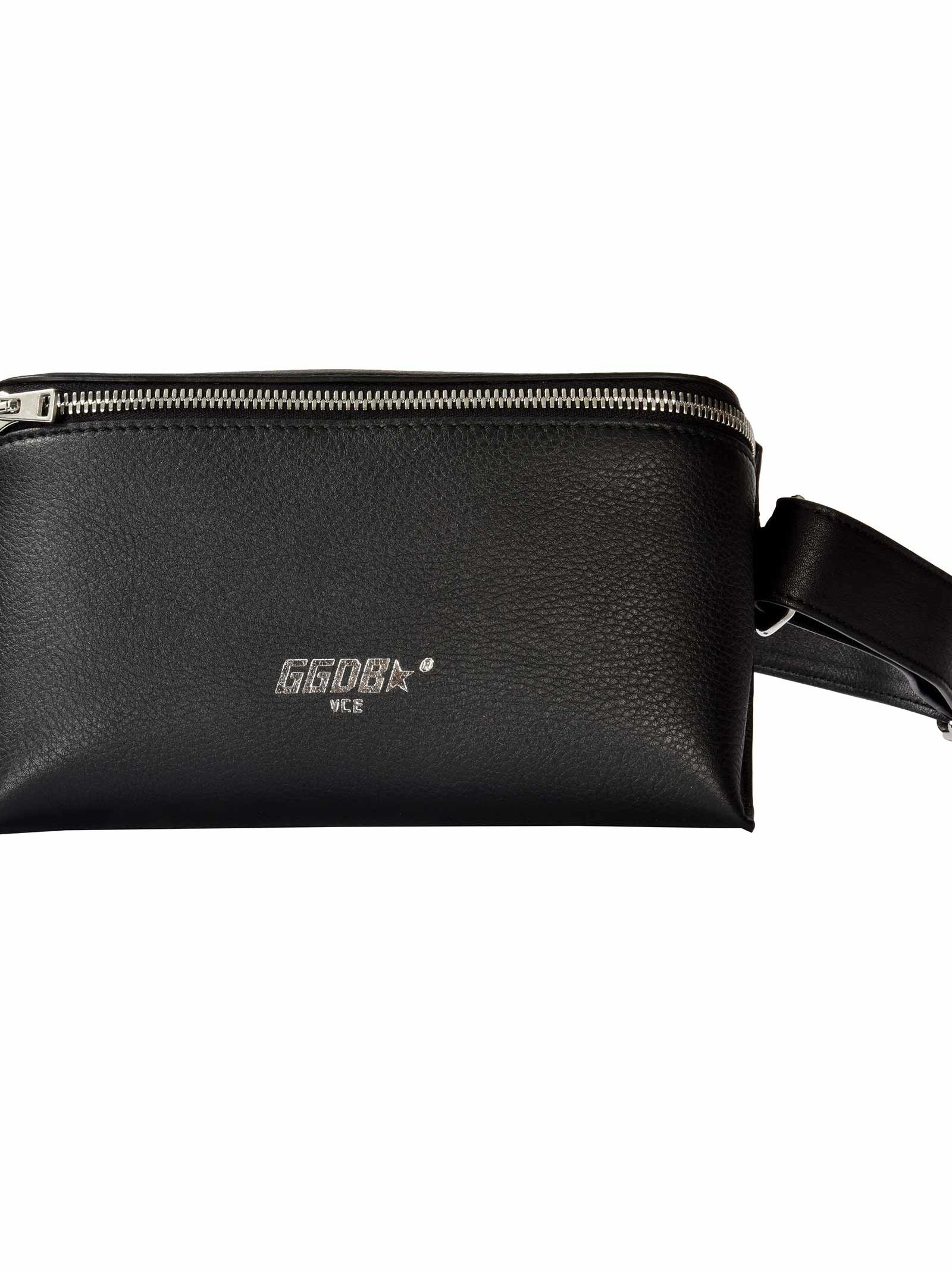 Logo Print Belt Bag, Ablack