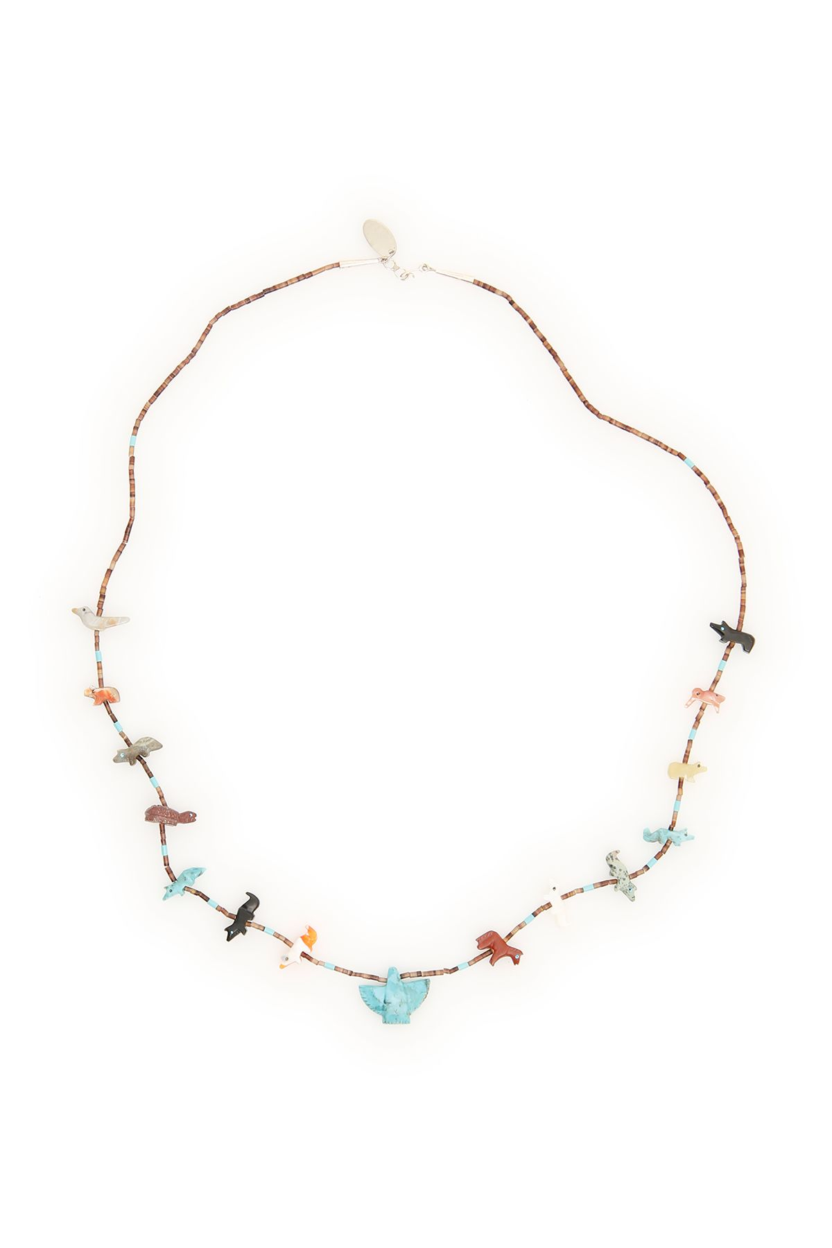 Necklace With Animals in Multicolor