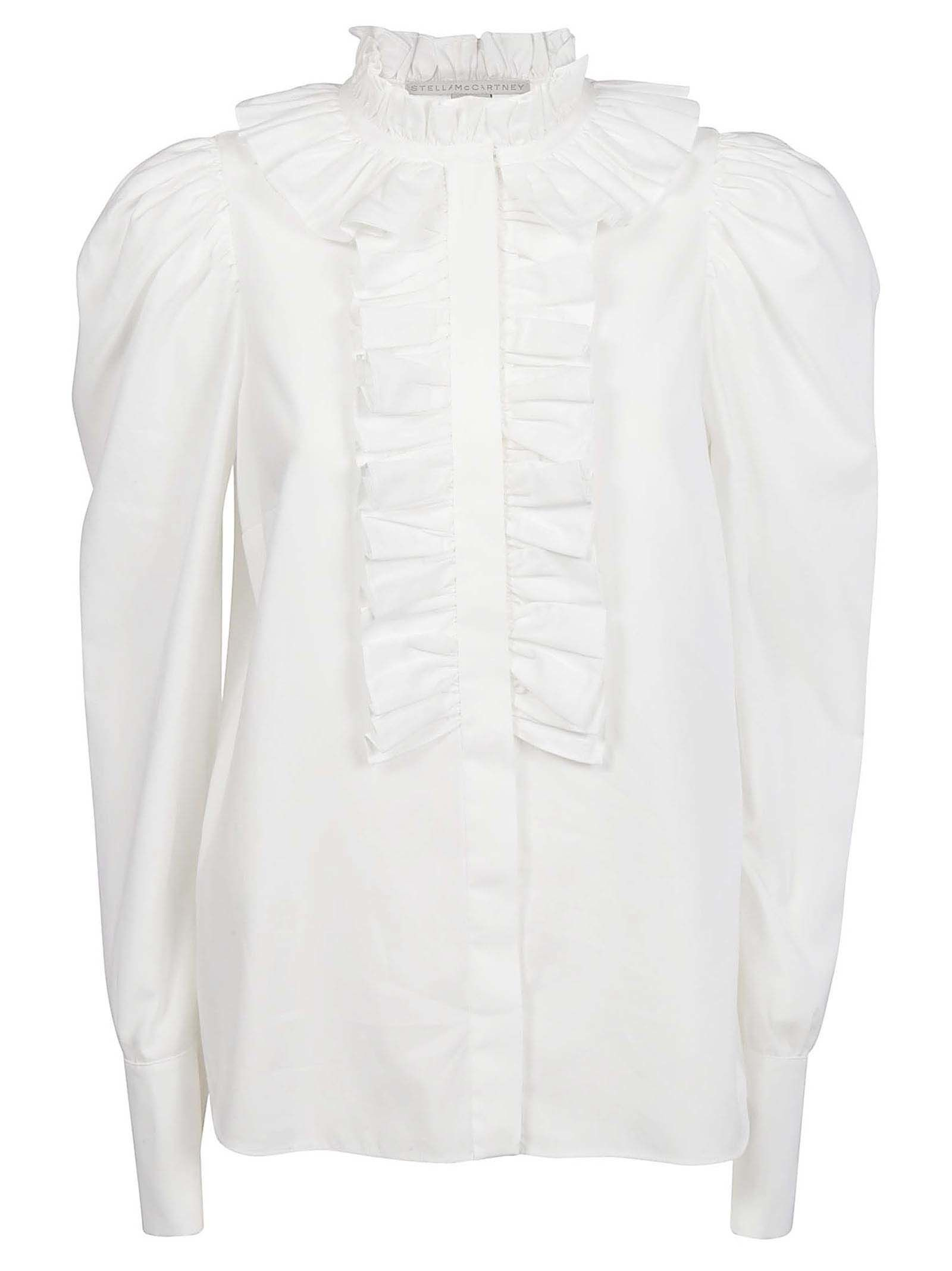 STELLA MCCARTNEY RUFFLED BLOUSE