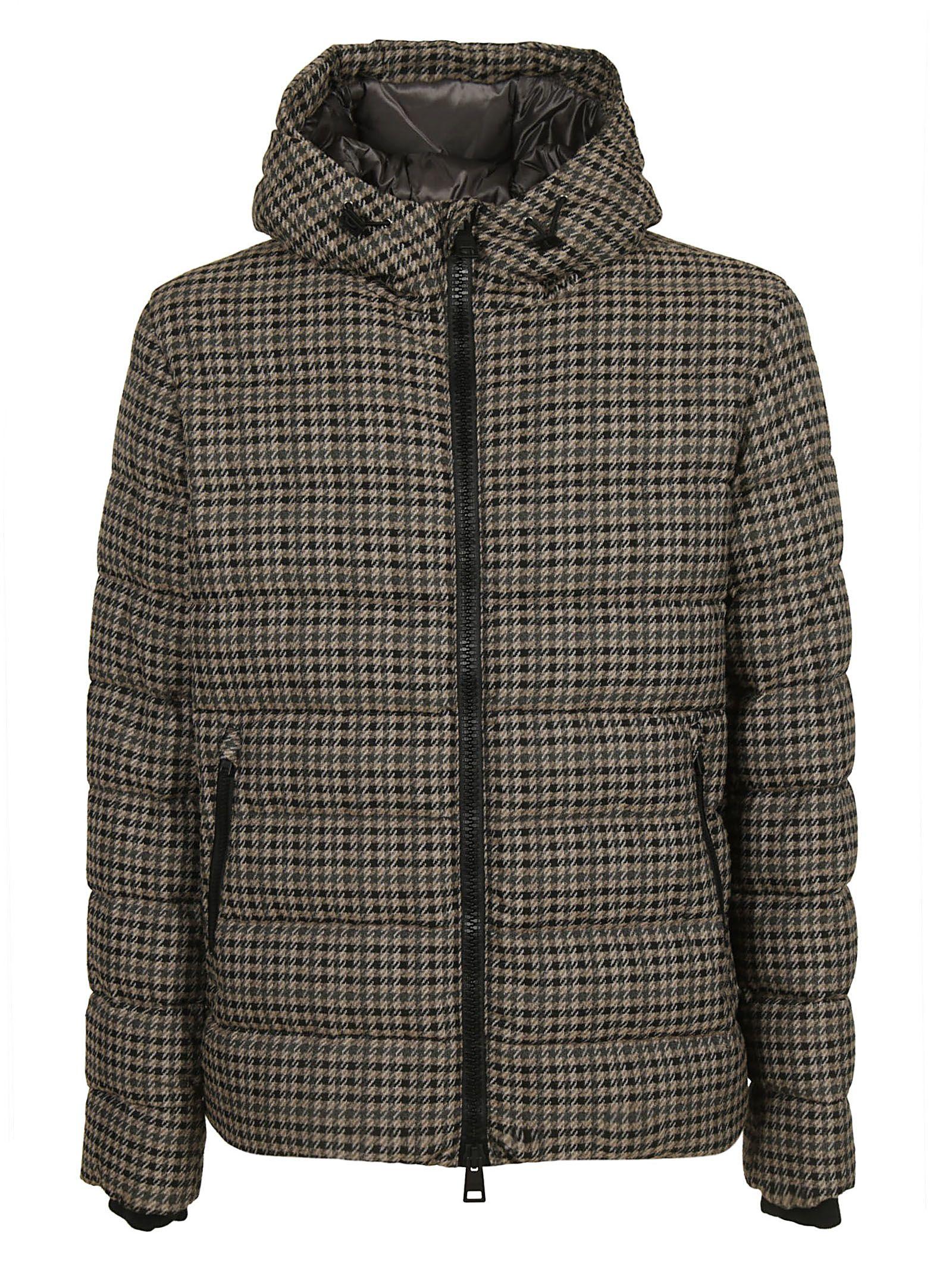 Herno Houndstooth Padded Jacket