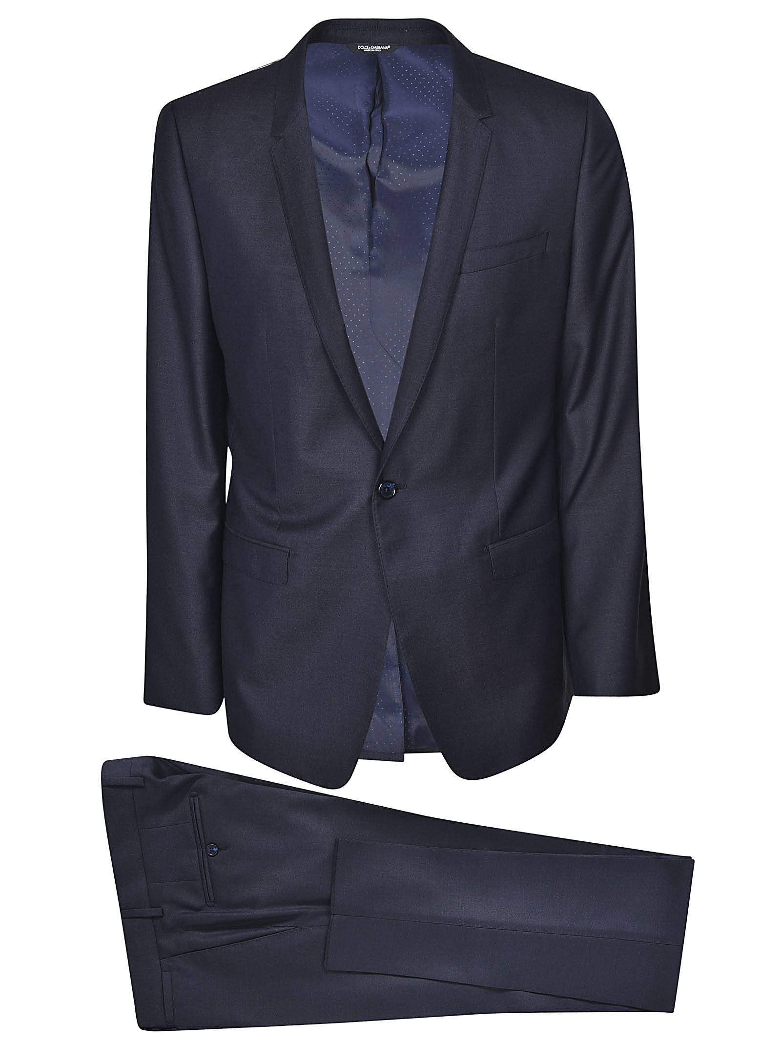 DOLCE & GABBANA SINGLE BREASTED SUIT