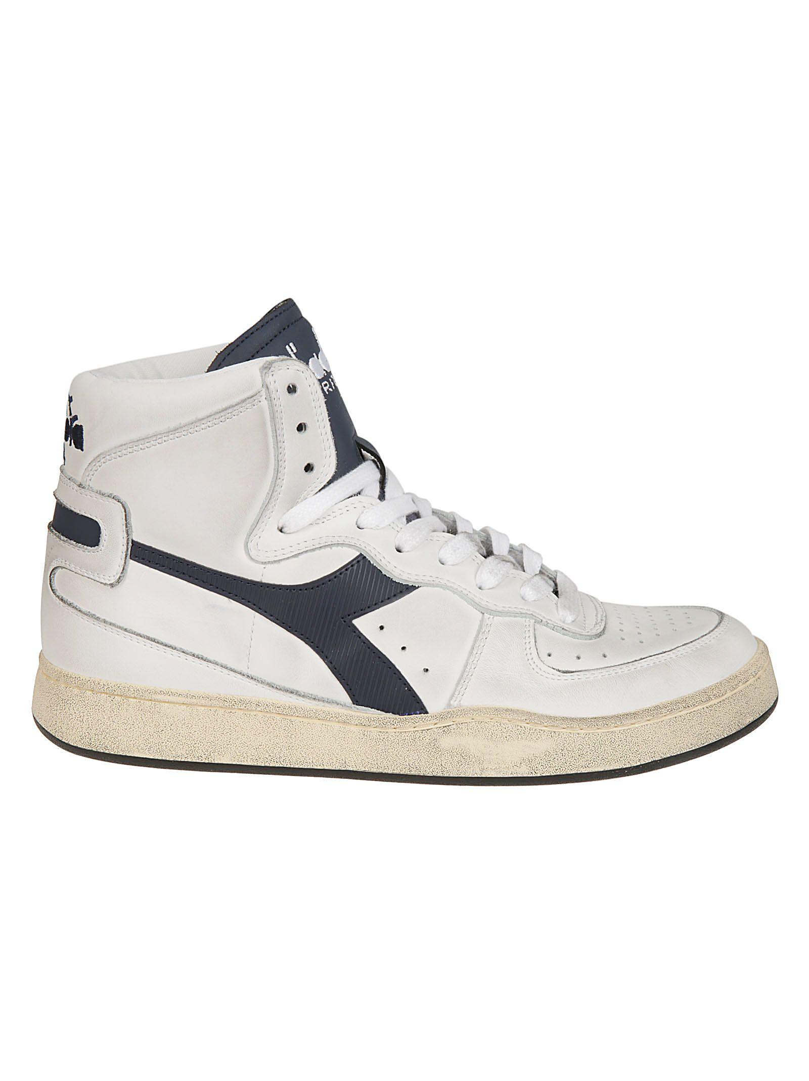 DIADORA Classic Hi-Top Sneakers in White
