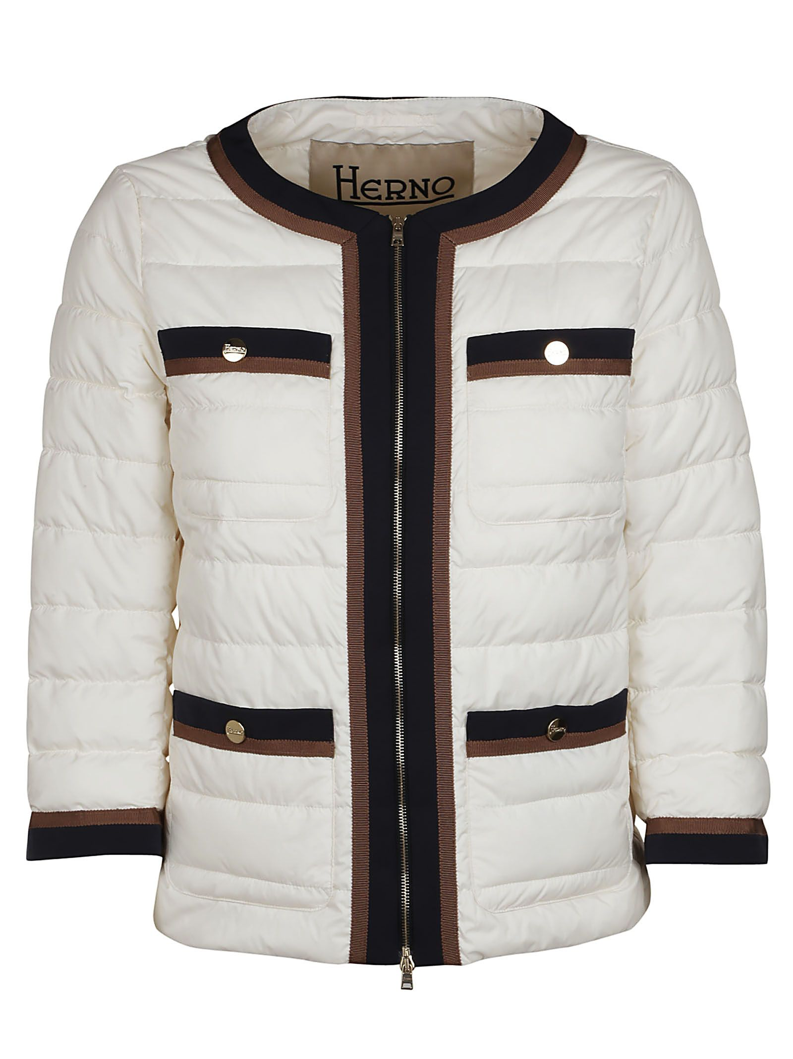 Herno Cropped Quilted Jacket 10503699