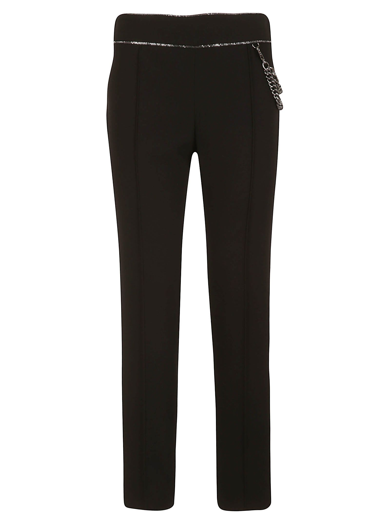 Boutique Moschino Chain Trim Trousers