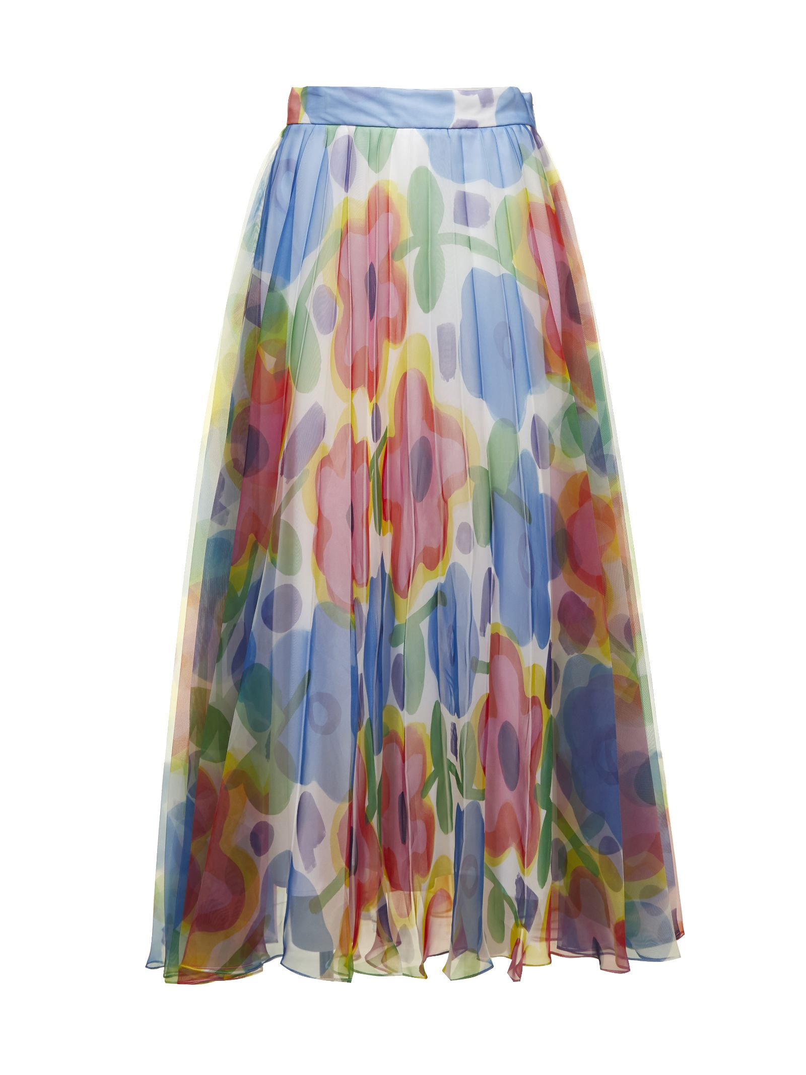 Christopher Kane Cartoon Flower Skirt