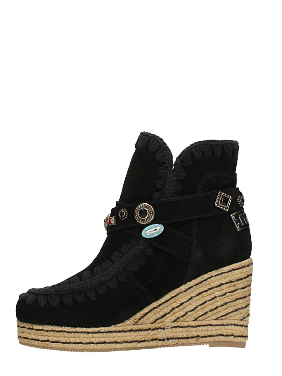 Mou Suede Eskimo Wedge Ankle Boots Sale Classic Big Sale Cheap Price jvvSR