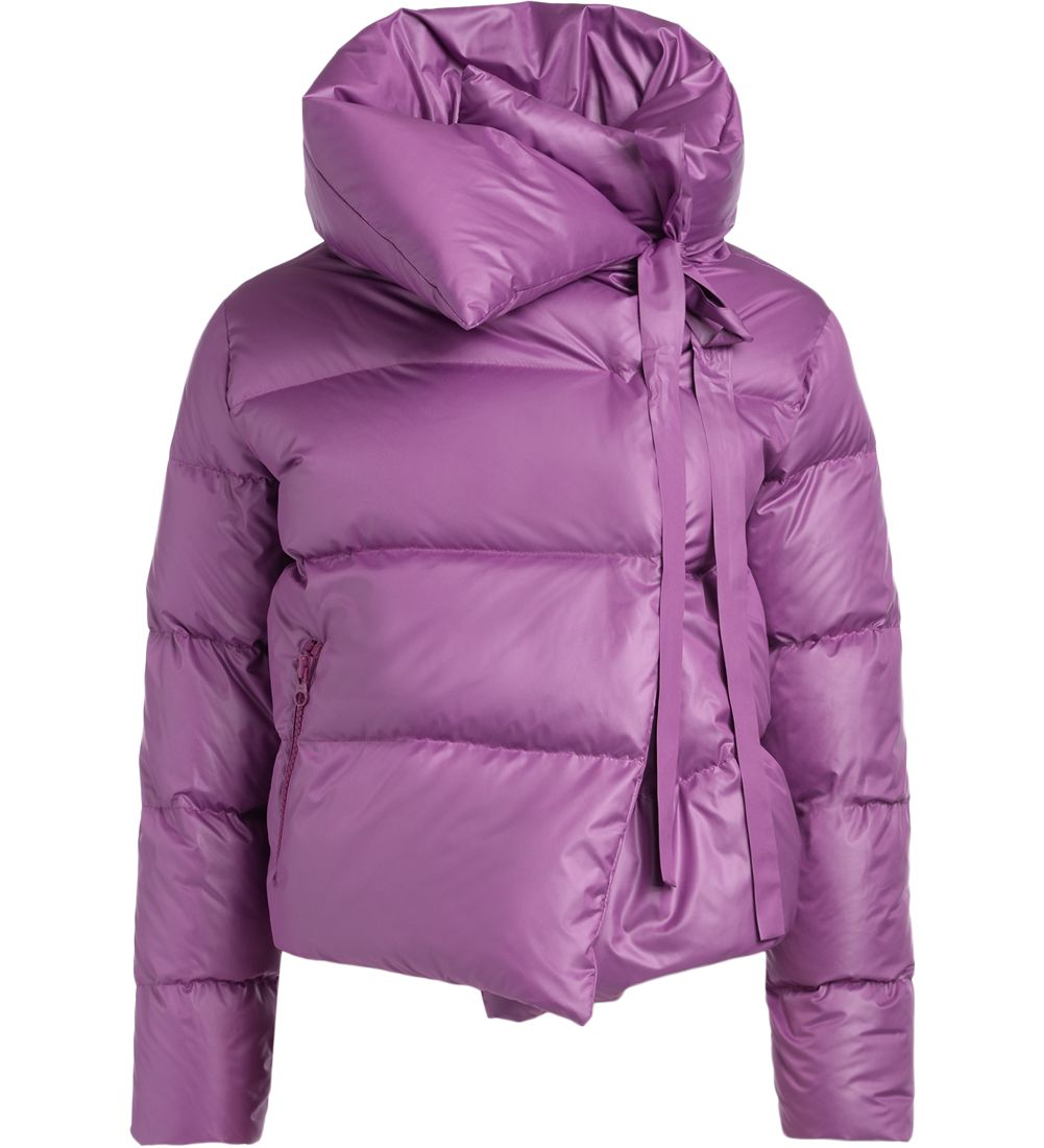 BACON CLOTHING Bacon Puffa Purple Down Jacket in Viola