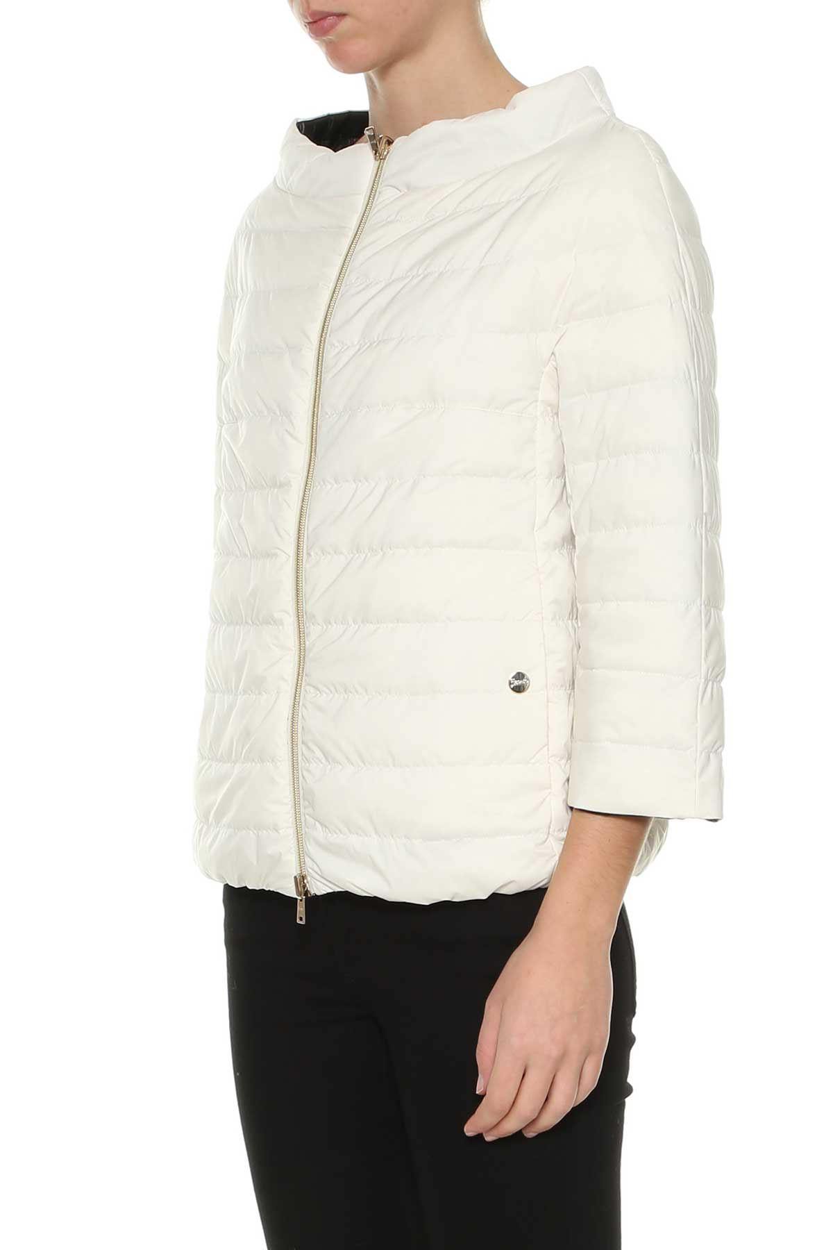 Herno Reversible Down Jacket - Bianco/nero