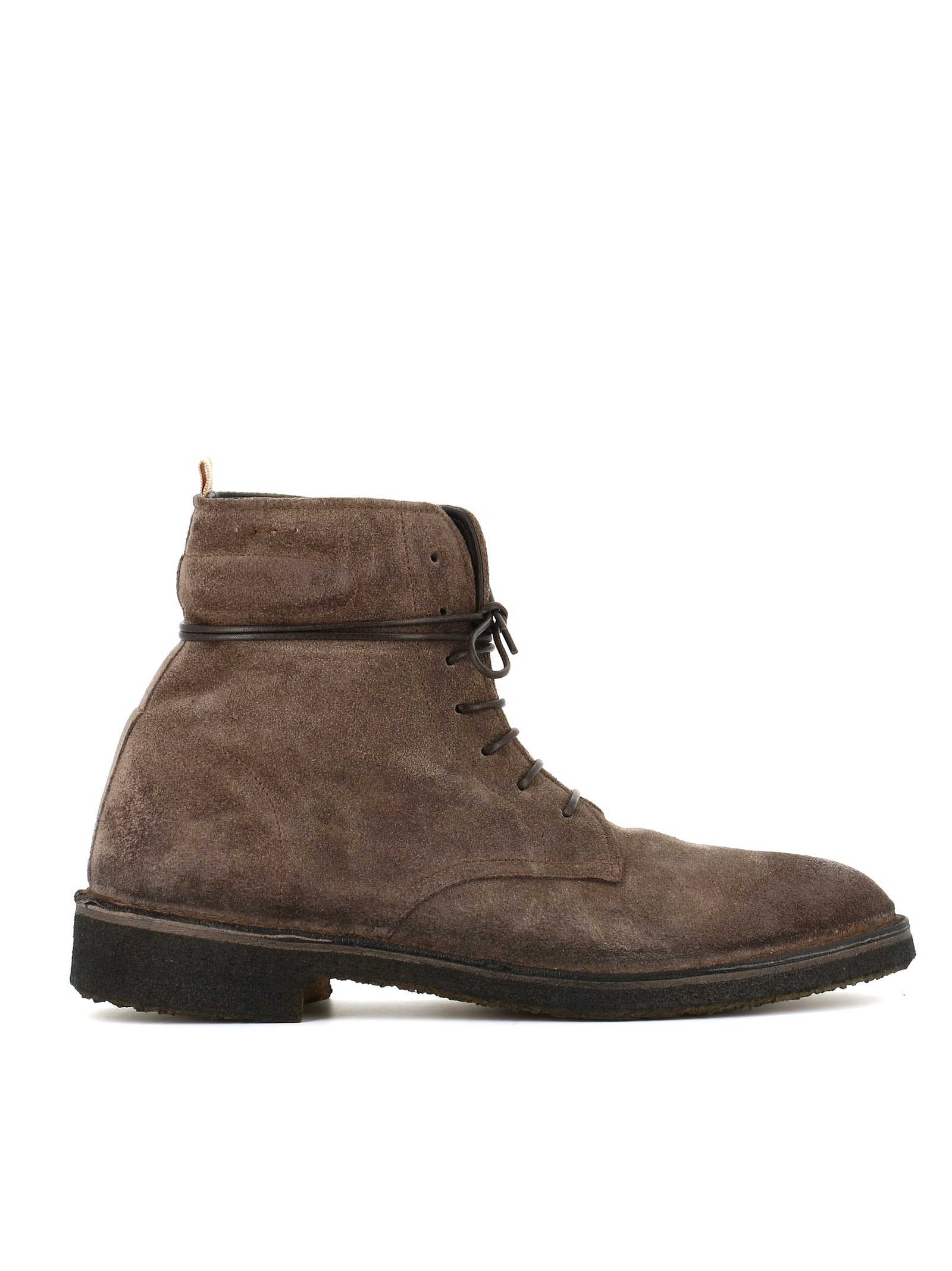 """ALEXANDER HOTTO Lace-Up Boots """"54200X"""" in Grey"""