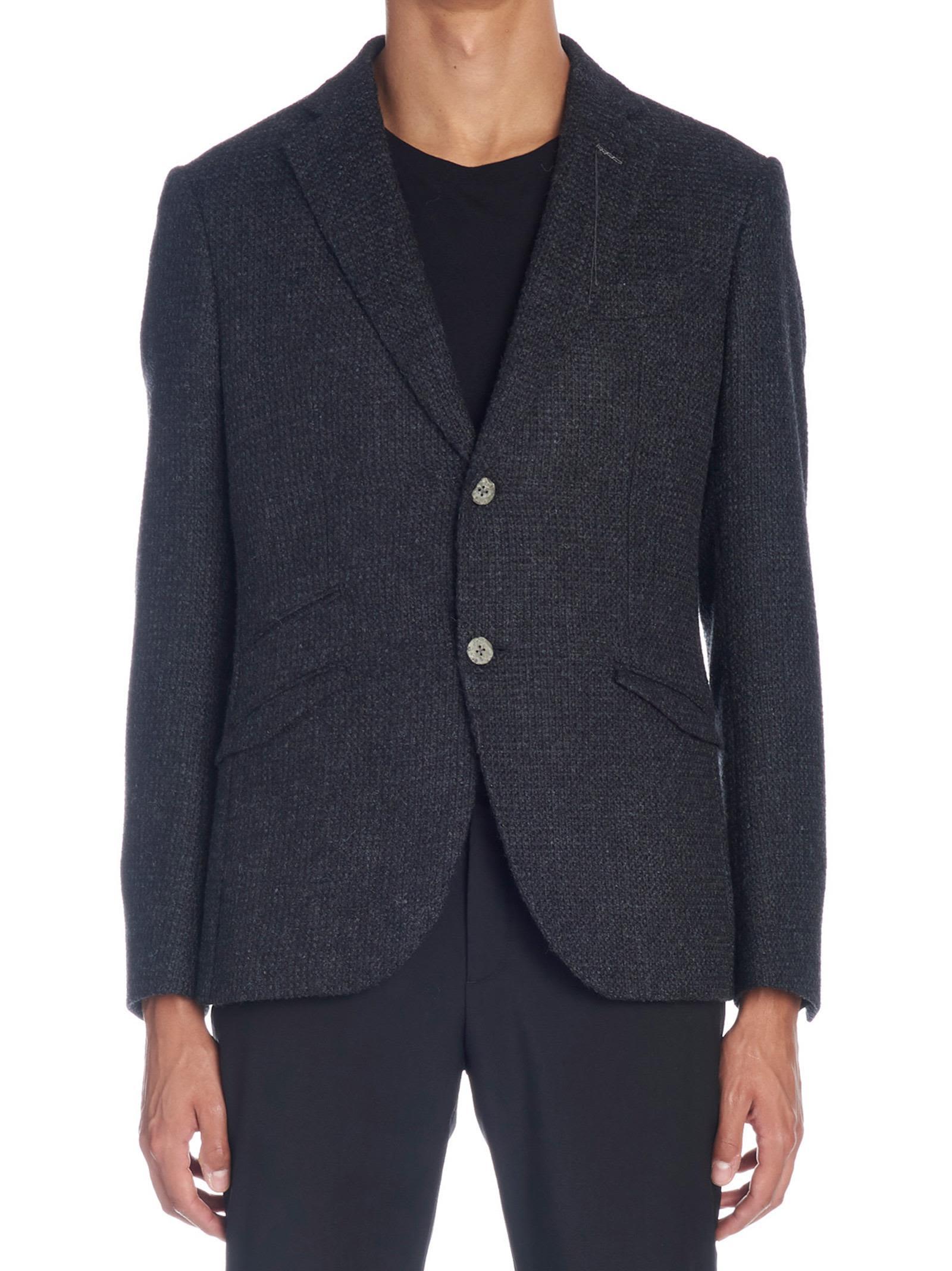 MAURIZIO MIRI 'Dustin' Jacket in Grey