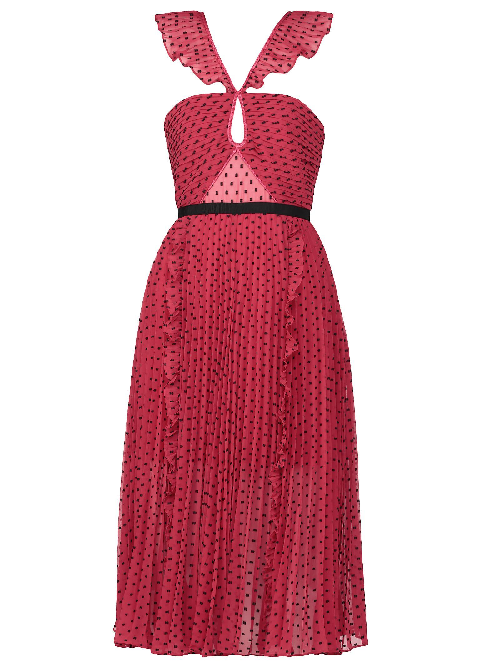 self-portrait Polka Dots Dress