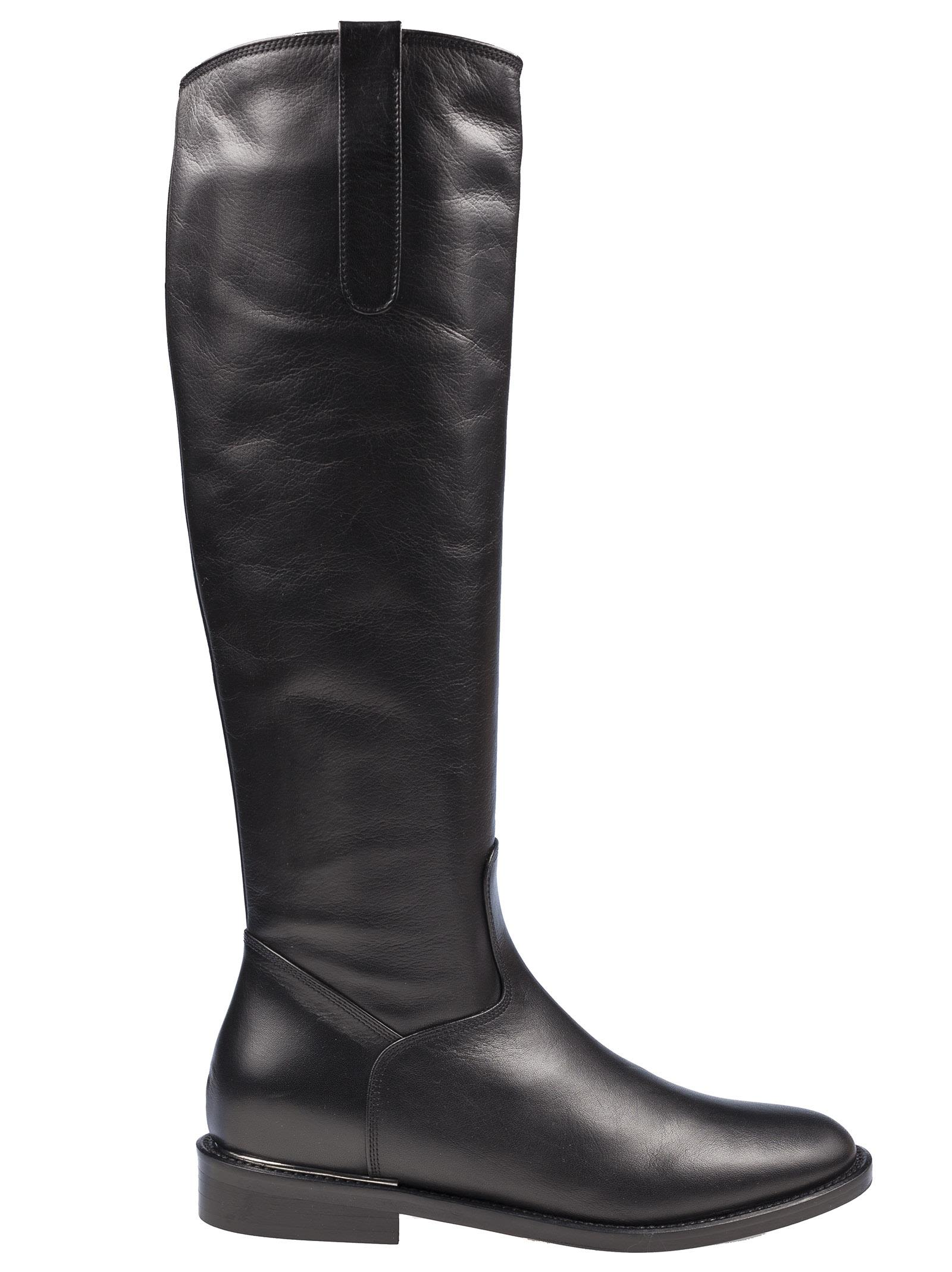 PETER FLOWERS Round Toe Boots
