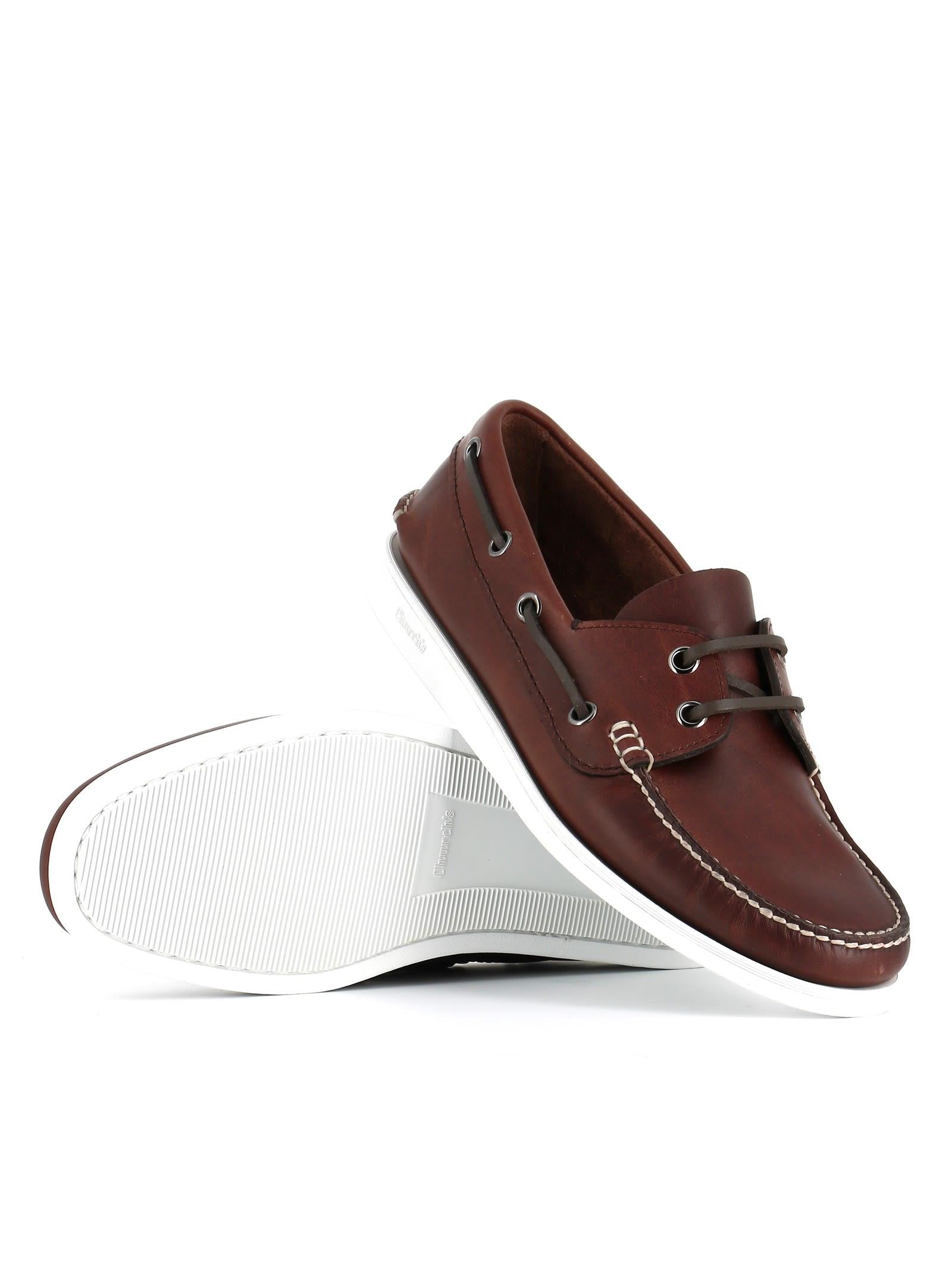 Chaussures Bateau De Marske De Edibo De L'église - Marron Ir1TLl