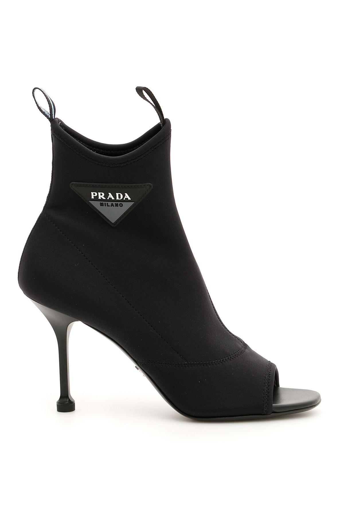 NEOPRENE OPEN-TOE BOOTIES