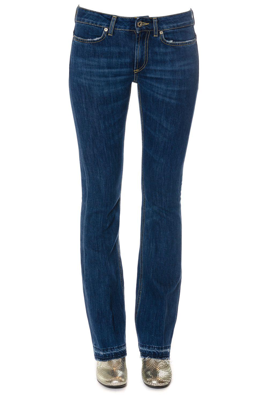 Dondup Neon Cotton Stretch Denim Jeans 7721831