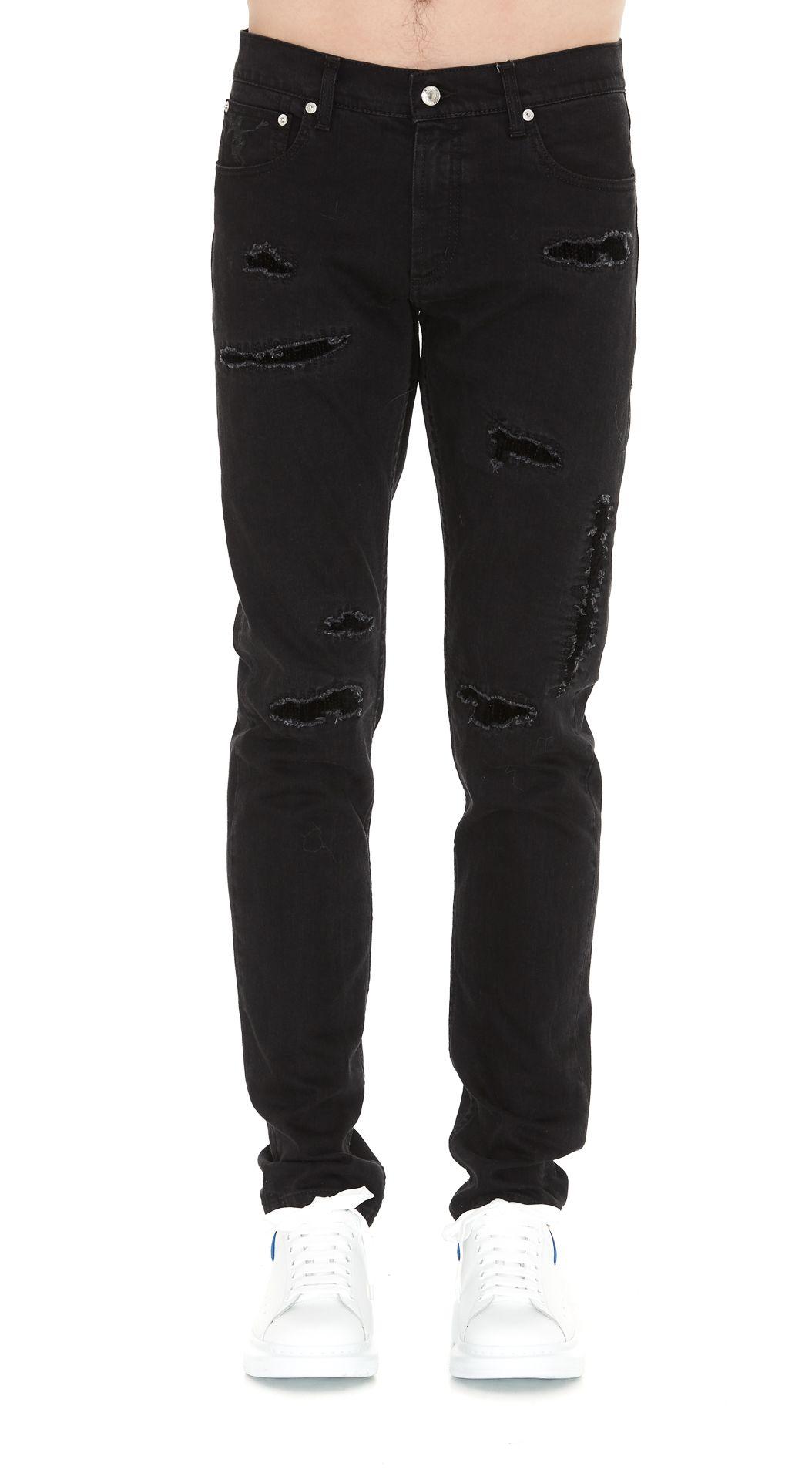 Alexander Mcqueen Jeans 10147505