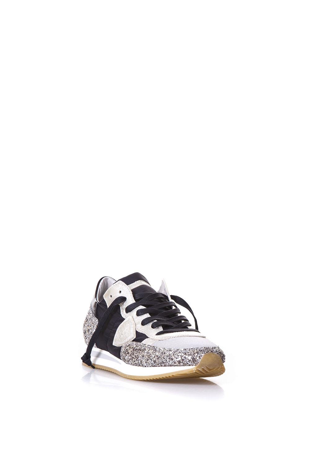 Philippe model Tropez Ld Basic Platinum Sneakers In Leather Outlet Many Kinds Of Outlet Clearance Store Cheap Sale Official Top Quality Cheap Price Brand New Unisex Cheap Online lybFr