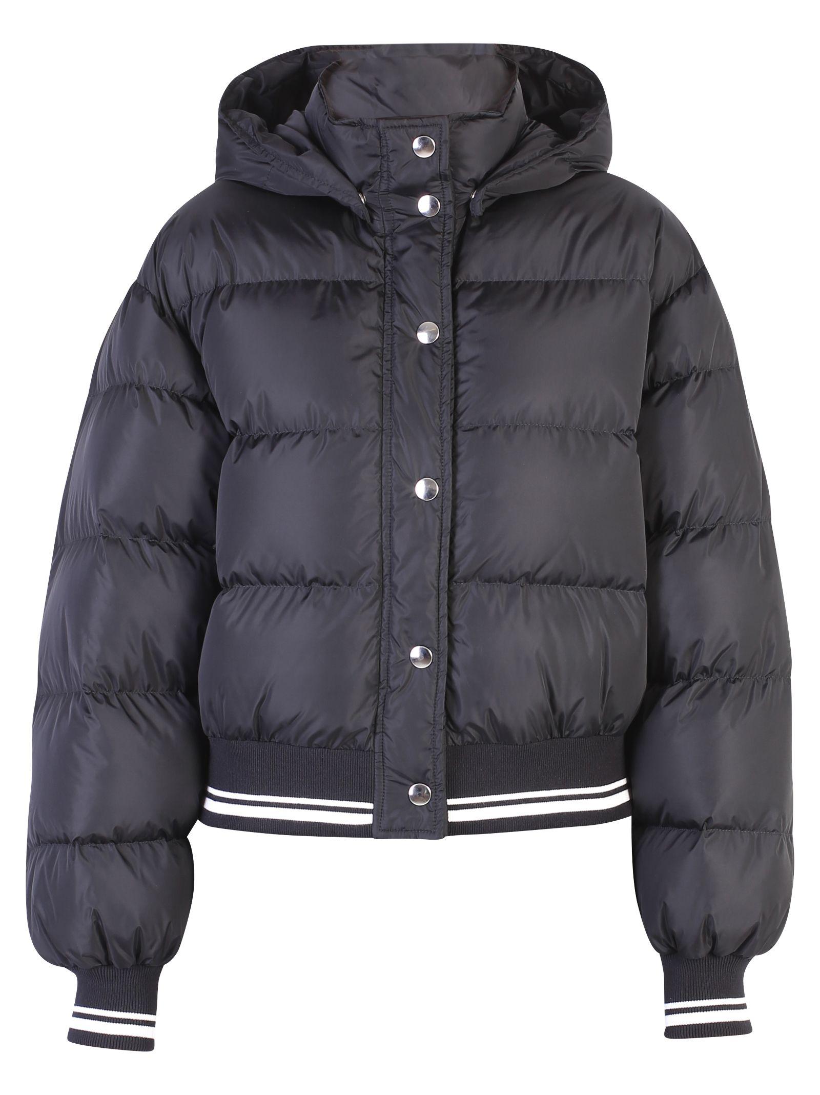 Black Branded Padded Jacket