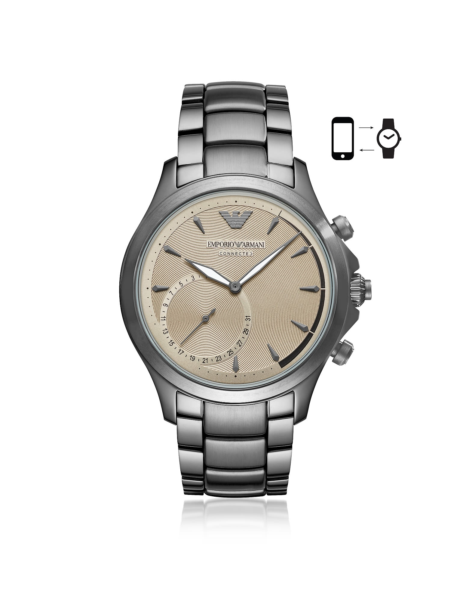 Emporio Armani Emporio Armani Connected Men's Hybrid Smartwatch thumbnail