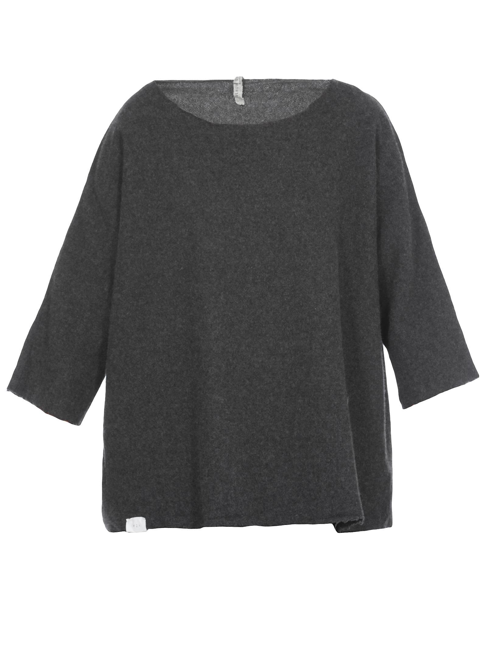 ALBUM DI FAMIGLIA Wool And Cashmere Sweater in Grey