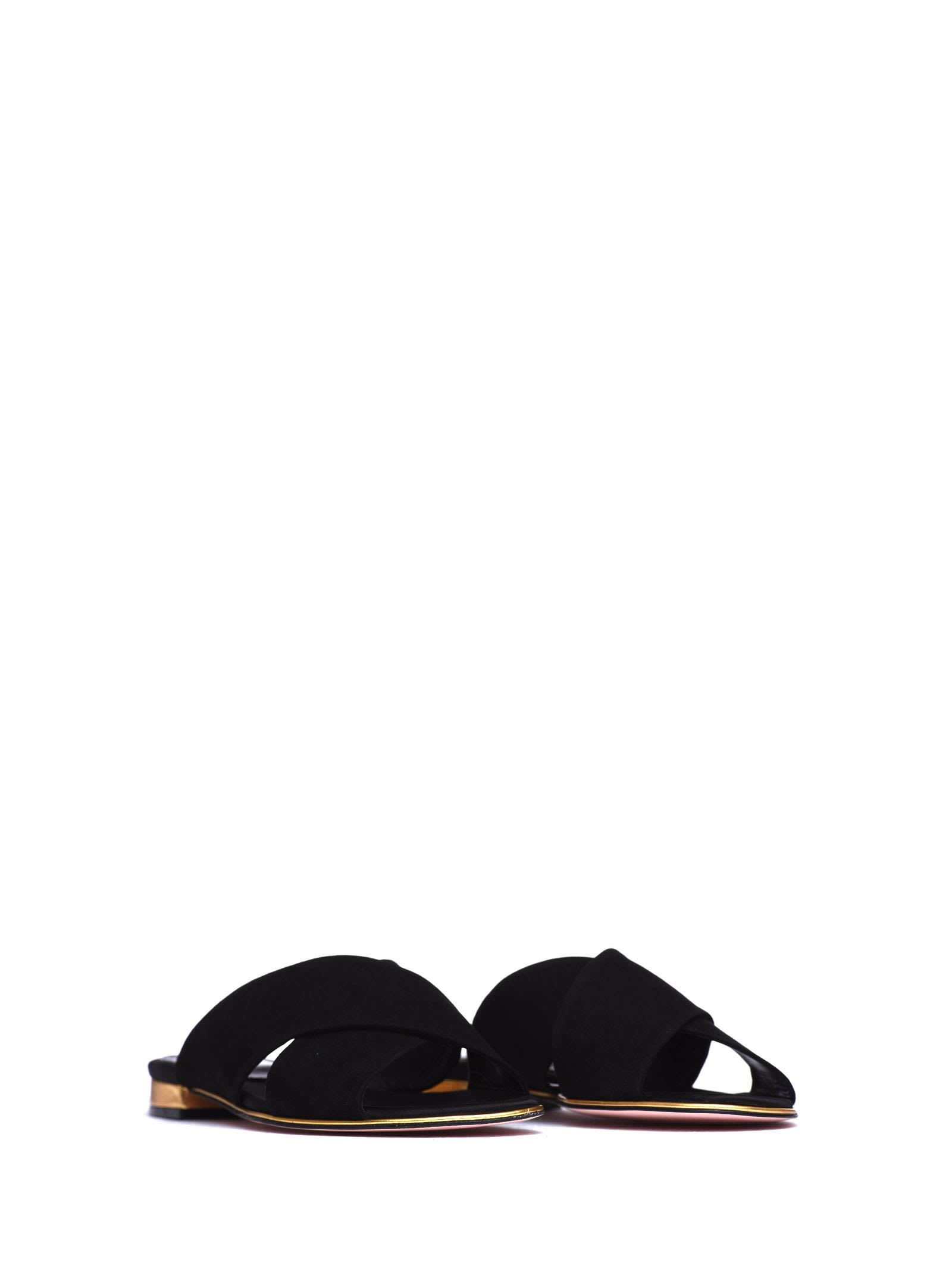 Real Sebastian Sebastian Slipper In Black Suede Outlet Supply Clearance Wholesale Price Outlet Hot Sale u3h0OE4kq