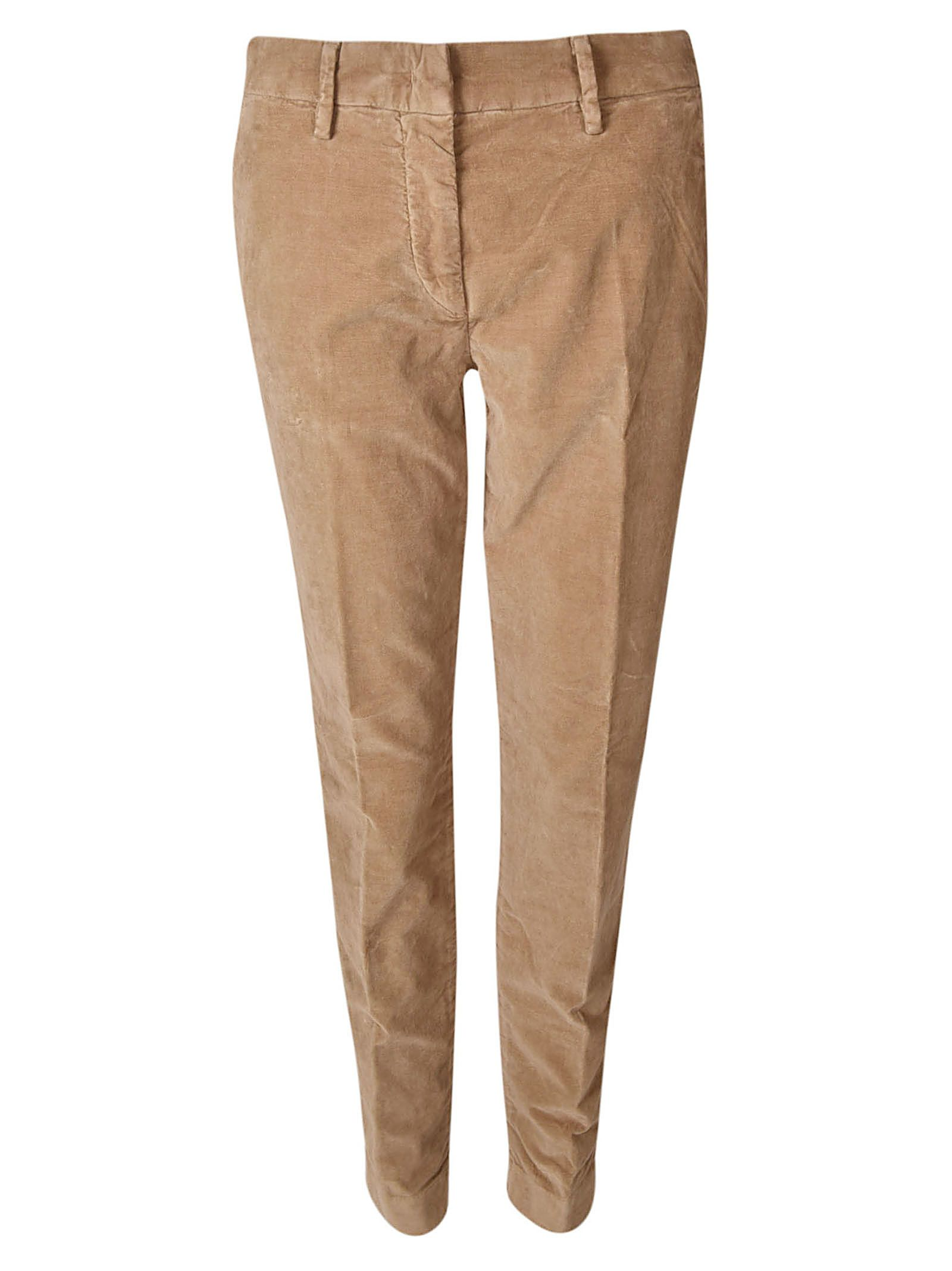 MASON'S Chino Trousers in Brown