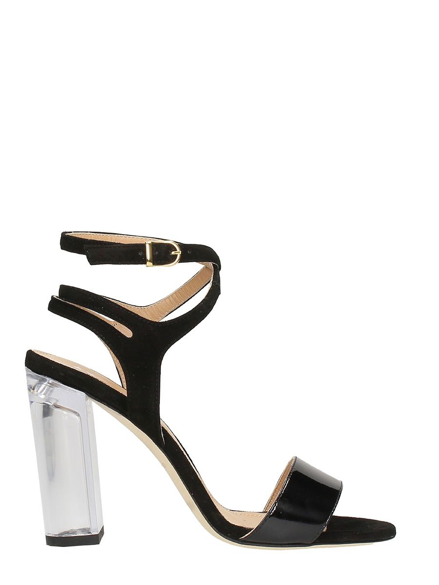 Cheap Sale Hot Sale Clearance Choice Patent leather and suede sandals Marc Ellis OzJn39Rkp