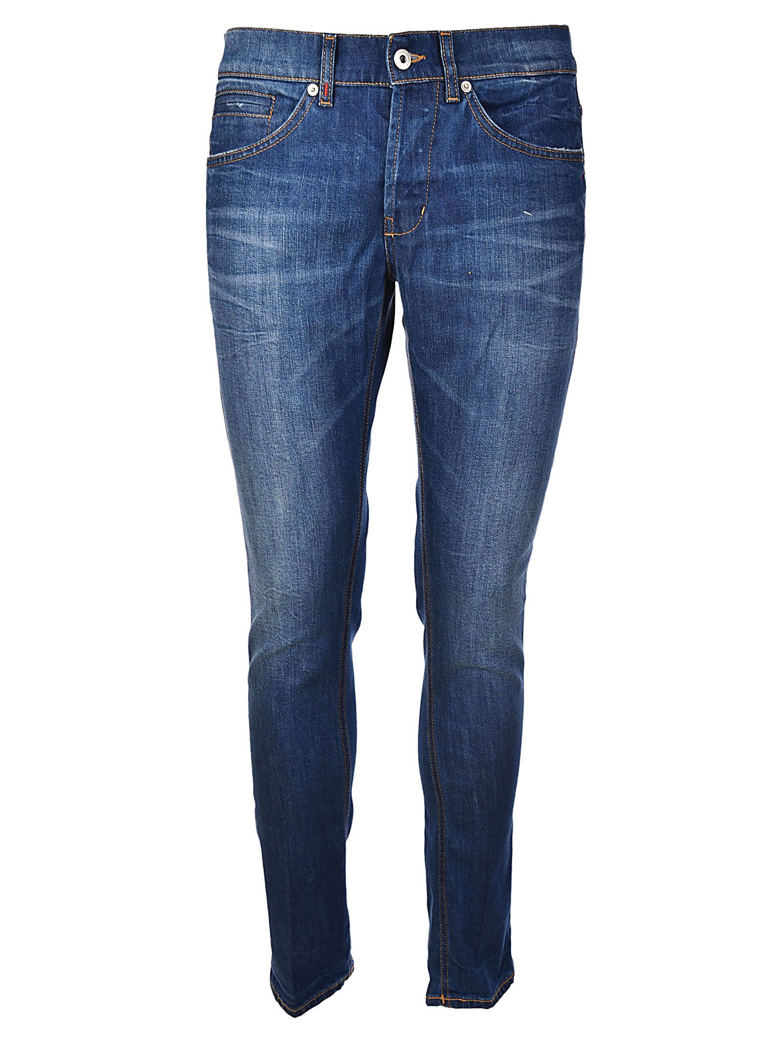 Jeans On Sale in Outlet, George, Denim, Cotton, 2017, 32 Dondup