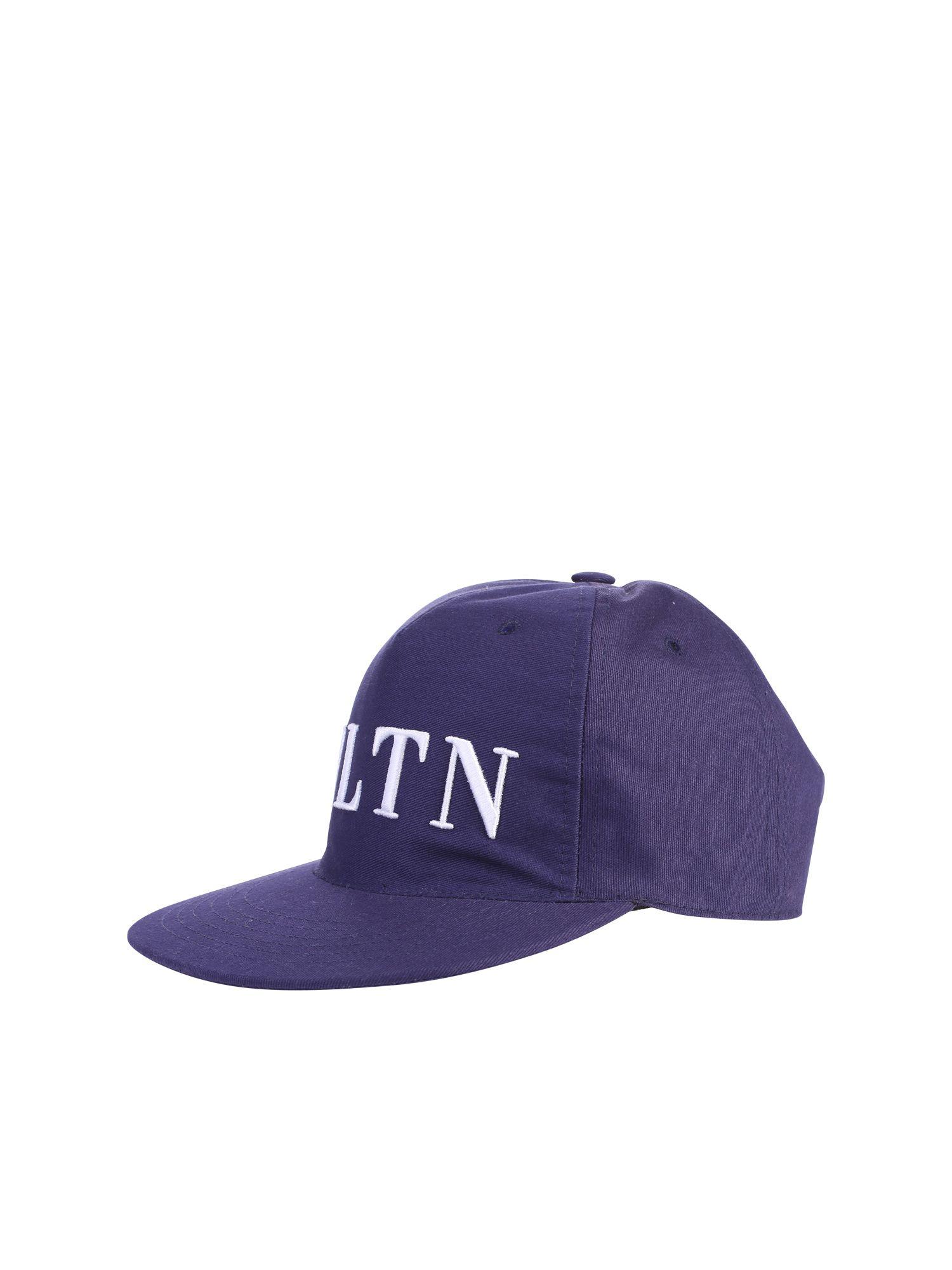VALENTINO EMBROIDERED BASEBALL HAT