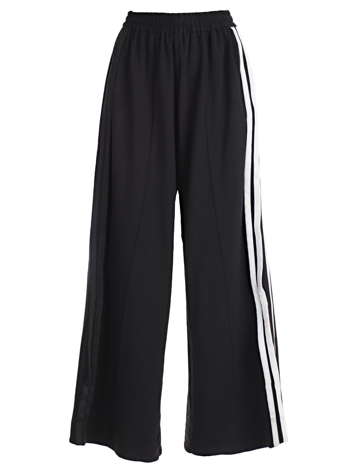 y-3 -  Yohji Yamamoto Wide Leg Track Pants