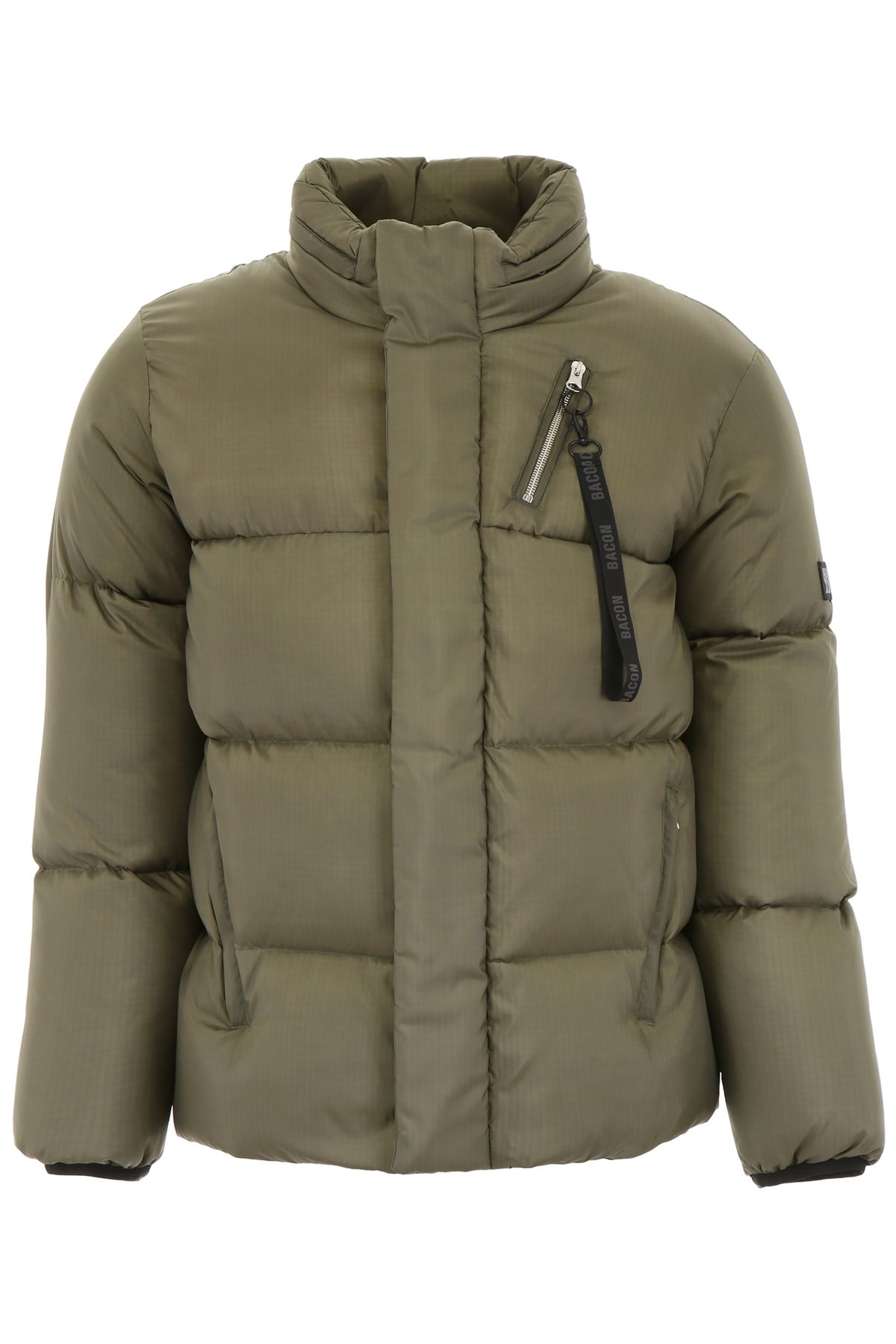 BACON CLOTHING Big Boo Puffer Jacket in Greeen