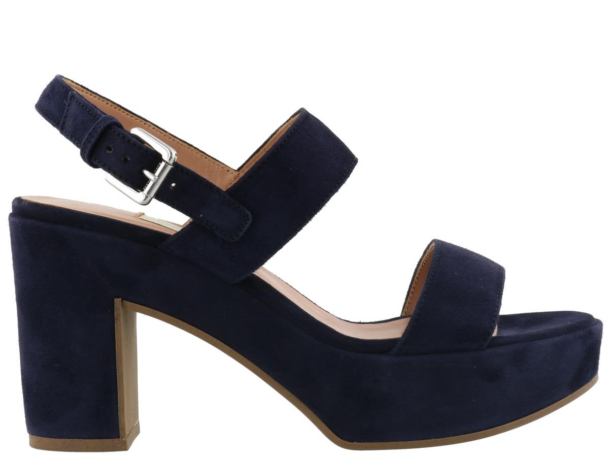 L'Autre ChoseHigh heeled sandals - navy 3lnhhvLT