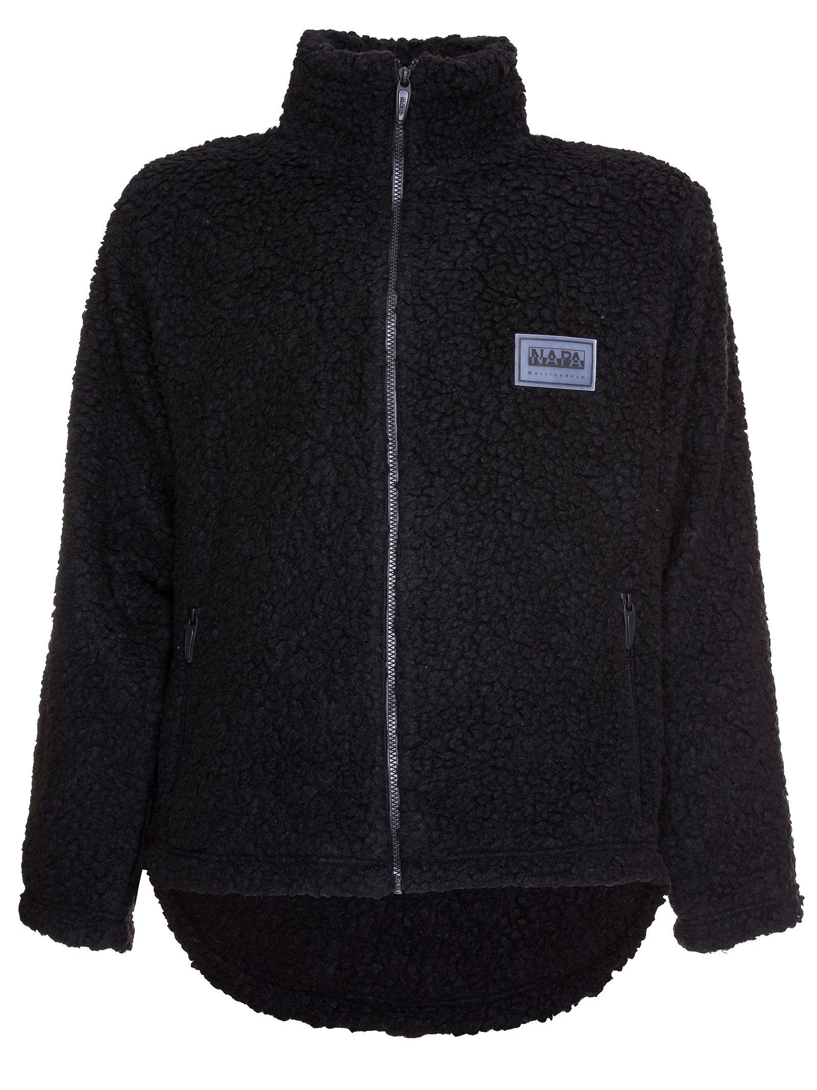 Napa By Martin Rose Sherpa Sweater, Nero