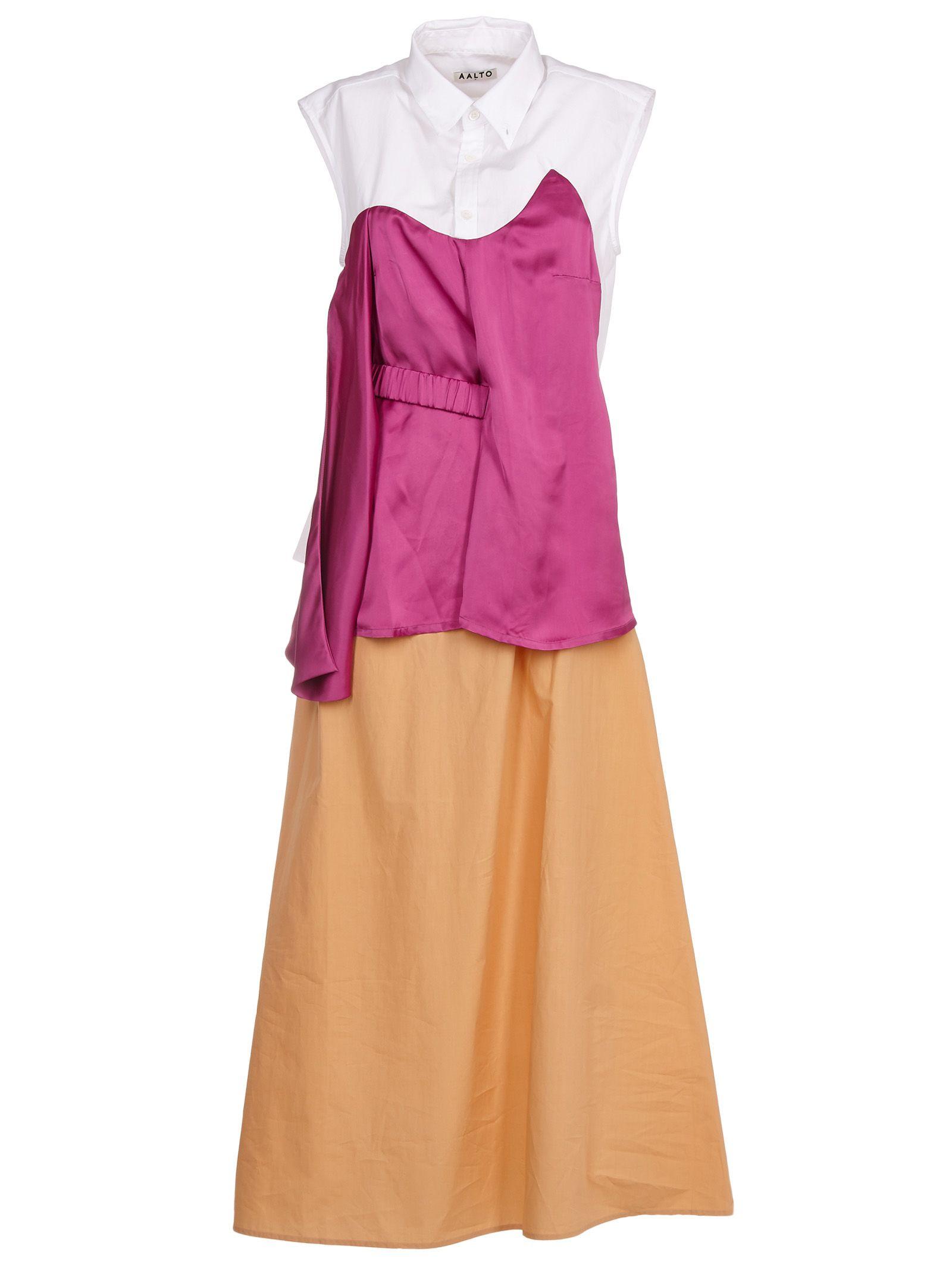 aalto female aalto contrast shift dress