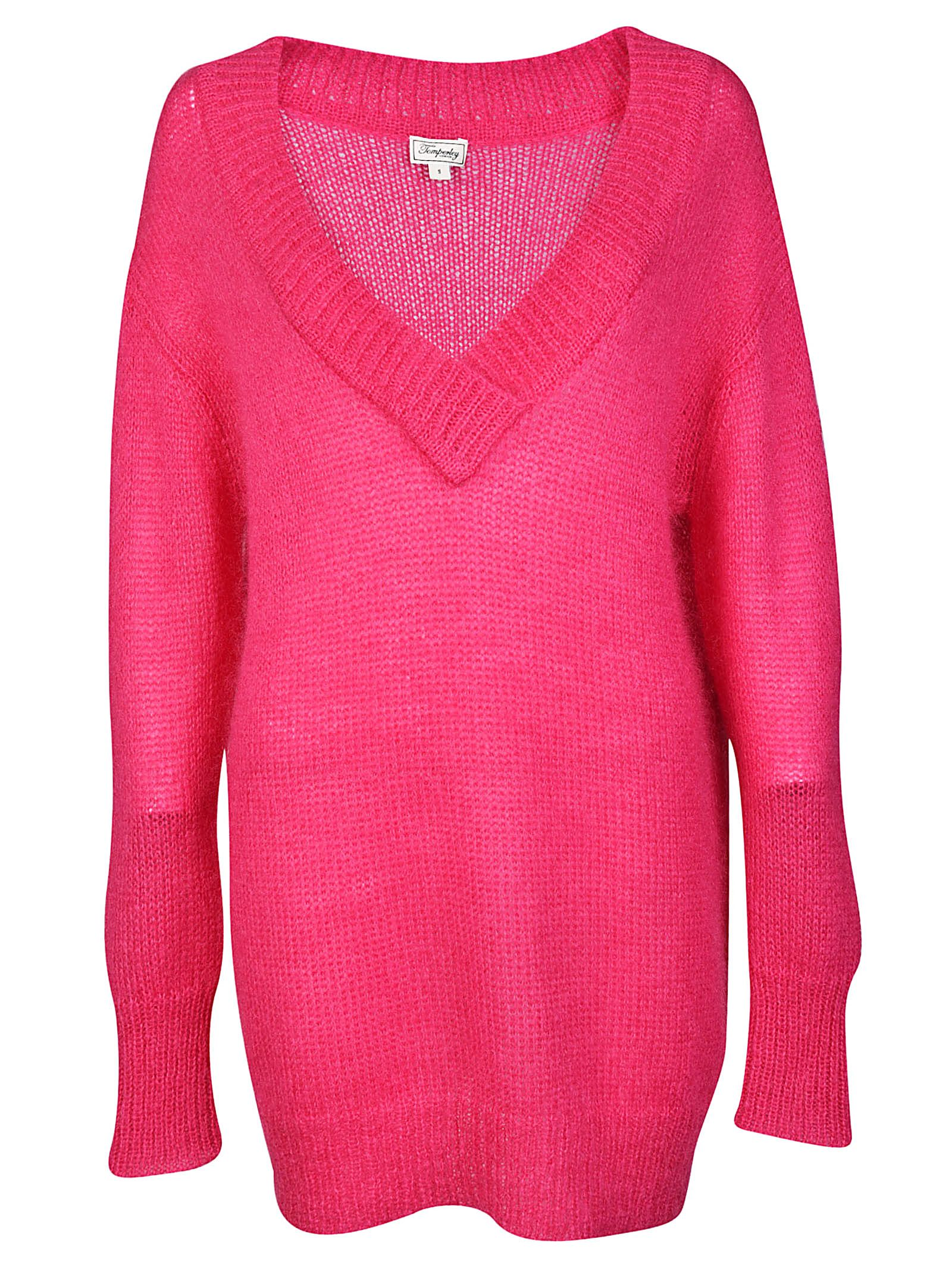 Temperley London Iron V-Neck Jumper