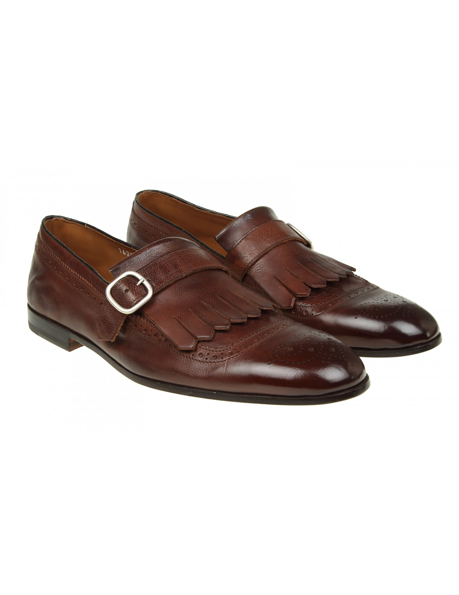 Brown leather moccasins Doucal's Discounts Online Cheap Pay With Visa B96laY