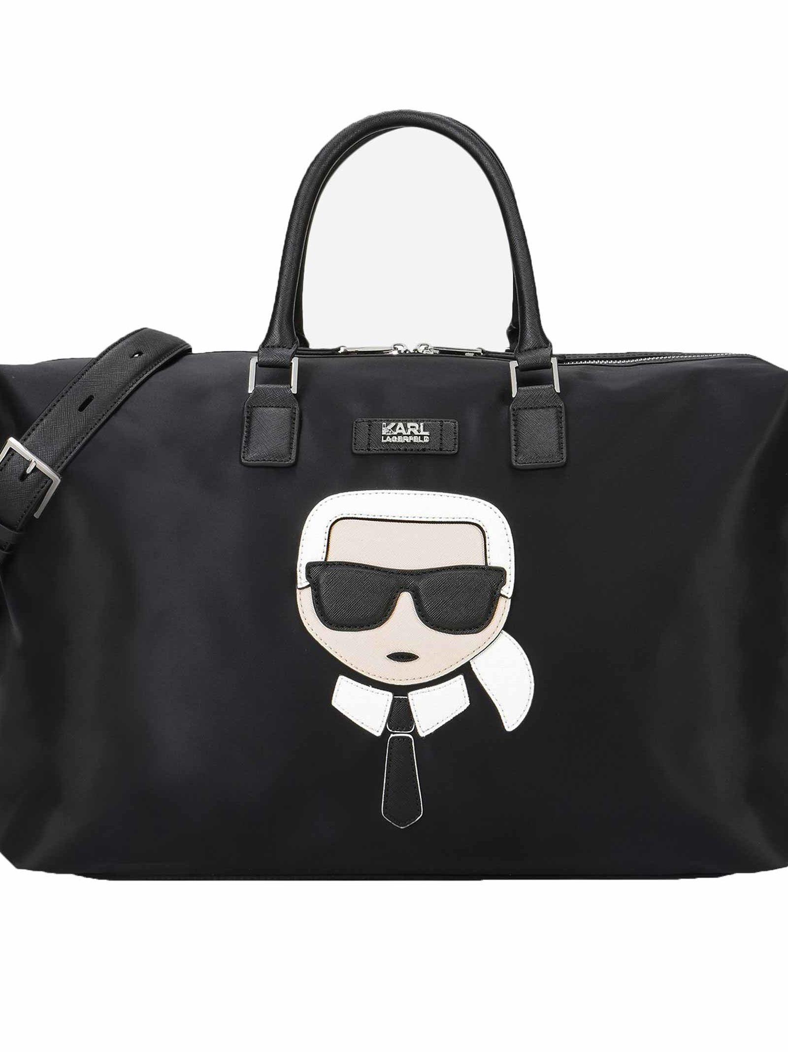 Karl Lagerfeld Ikonik Duffle Bag