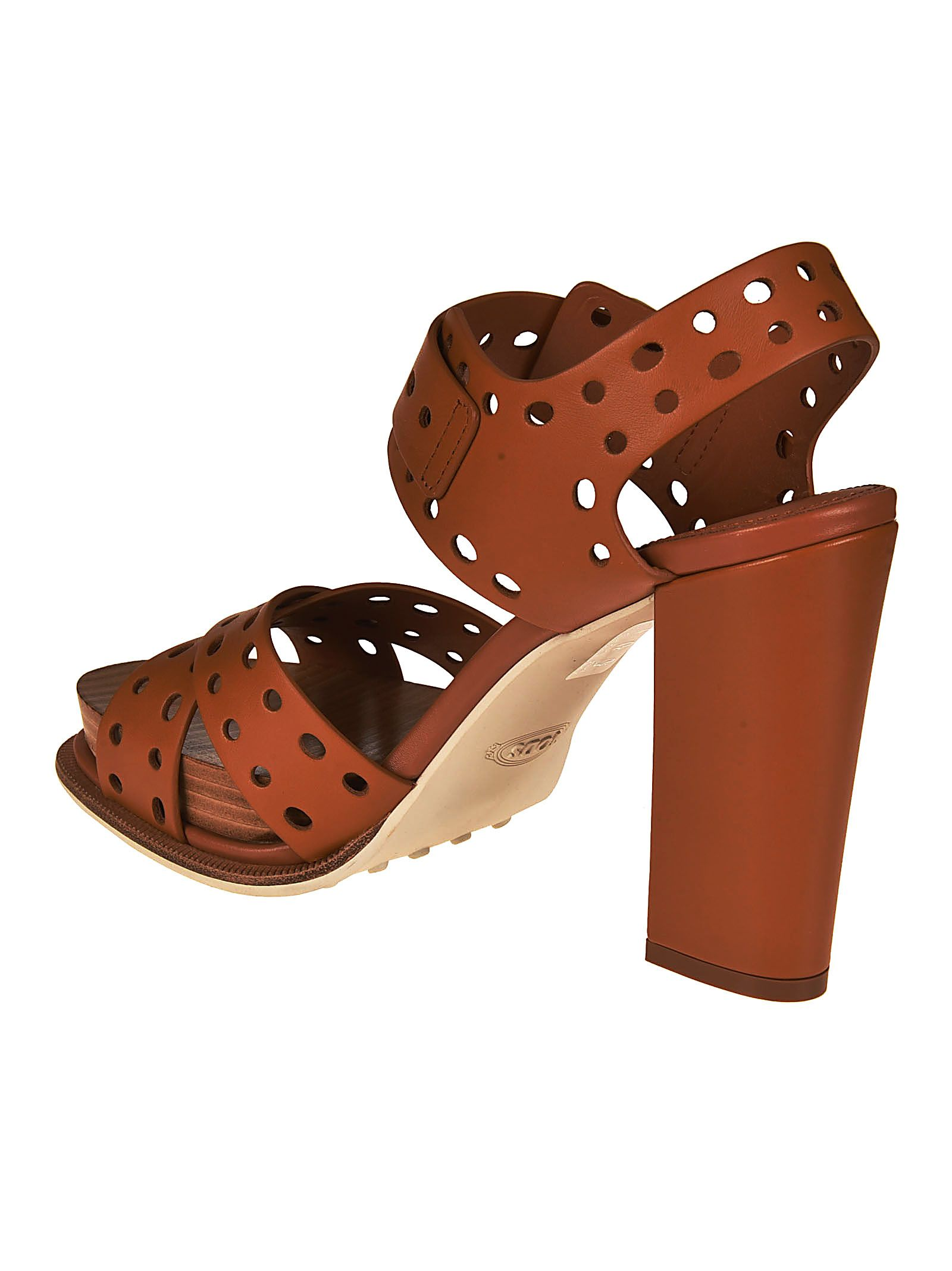 cheap sale affordable very cheap Tod's Leather Ankle Strap Sandals sale pay with paypal 7V5fLct2QC