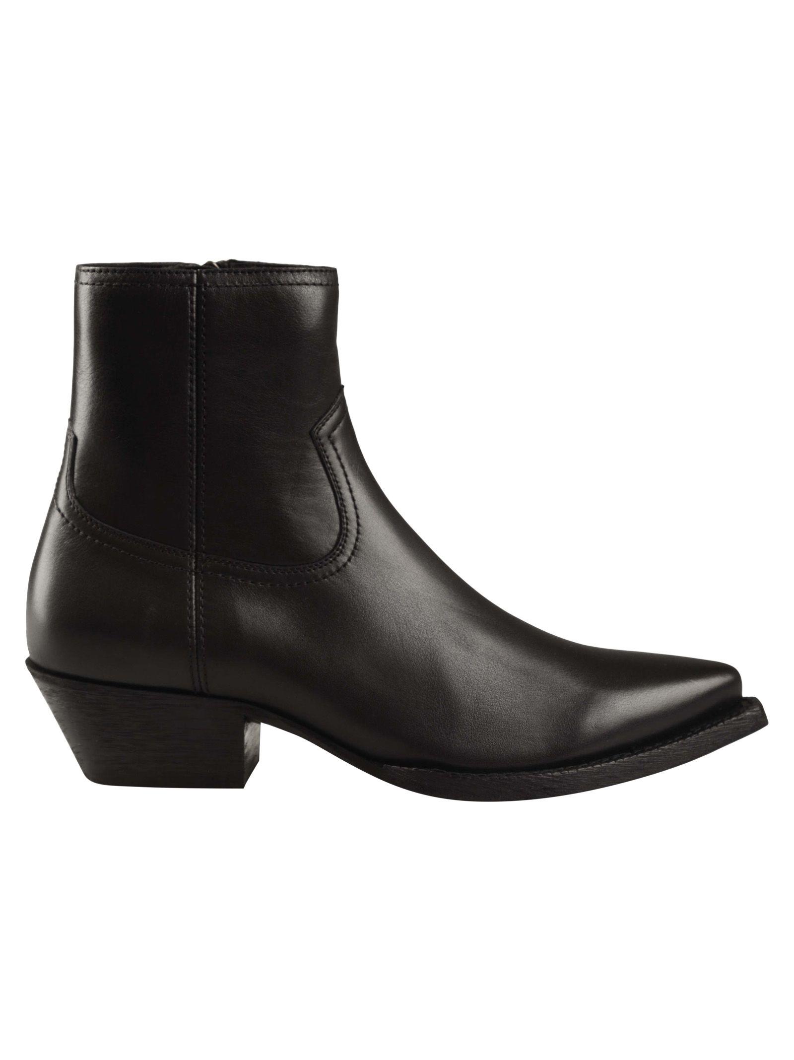 Brit Ankle Boots, Noir