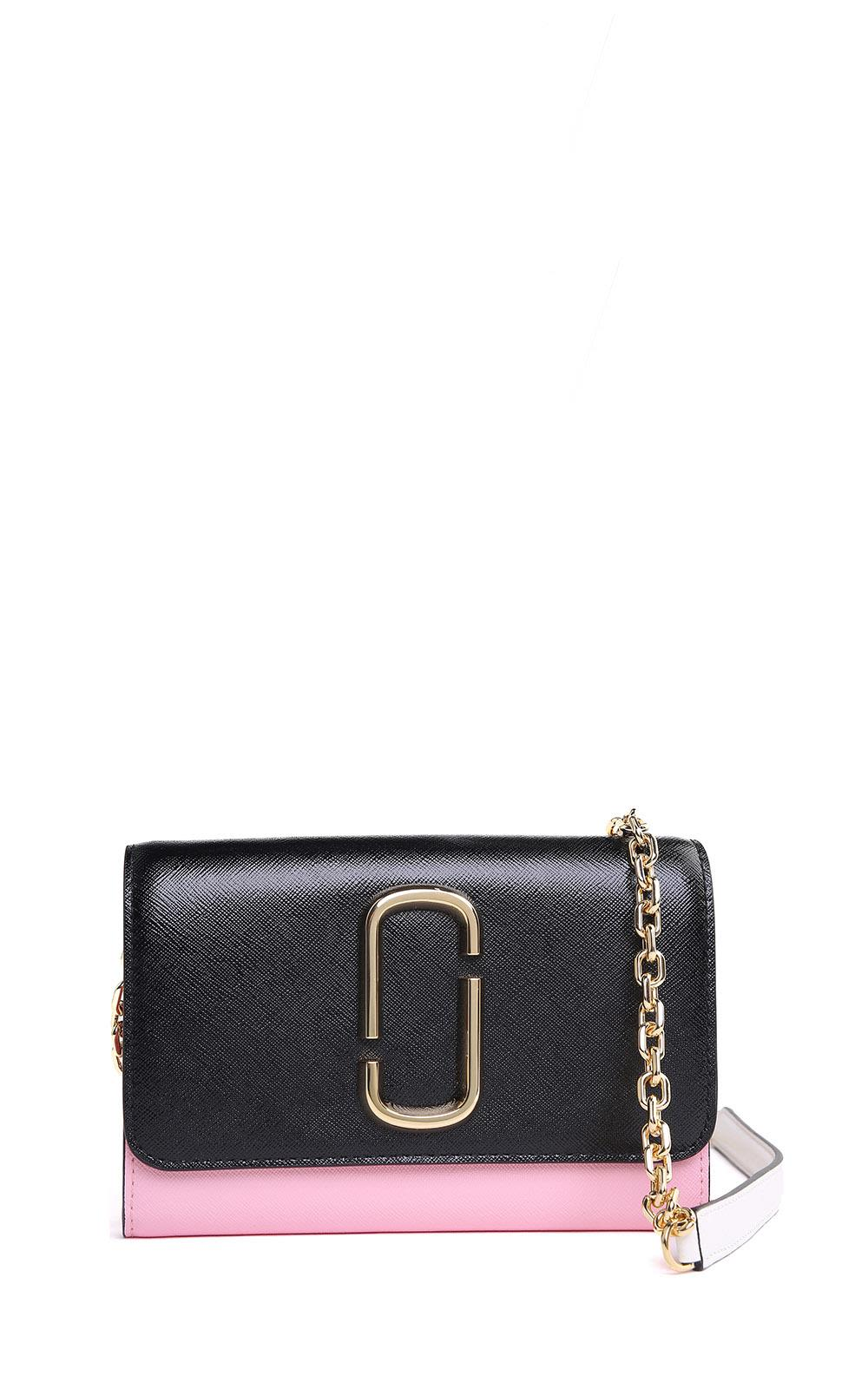 Snapshot Chain Wallet color-blocked saffiano-leather cross-body bag Marc Jacobs 7wECtrJ