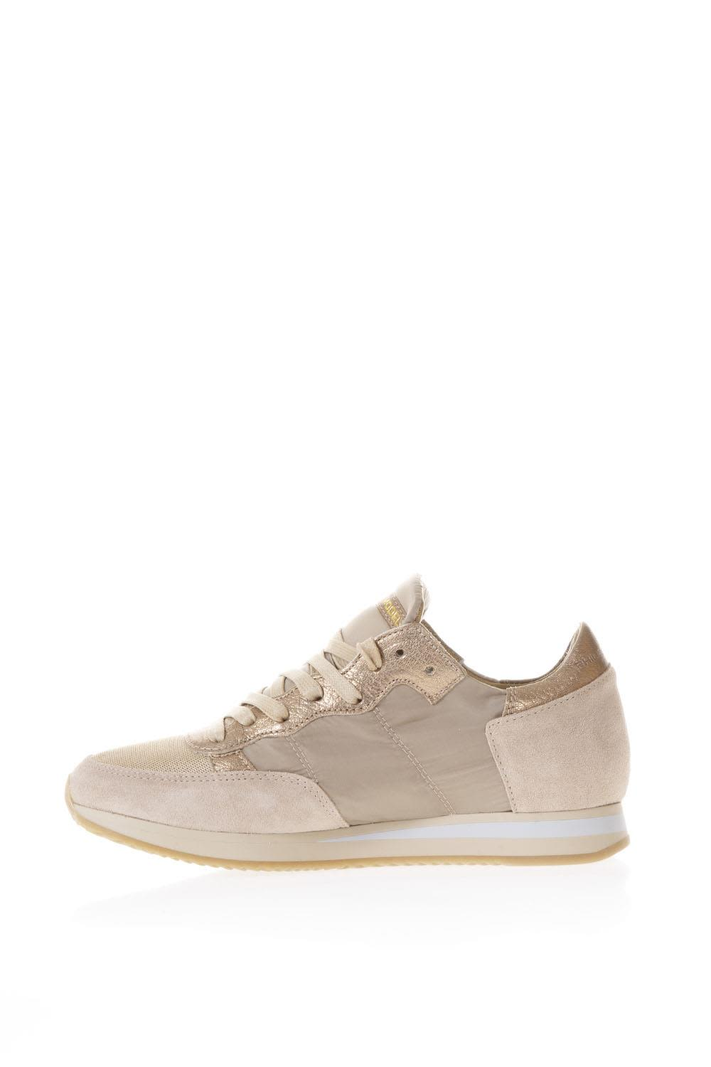 The Cheapest Cheap Online Philippe model Tropez Nuts Suede & Nylon Sneakers Buy Cheap Browse 4Nb0gzlFy