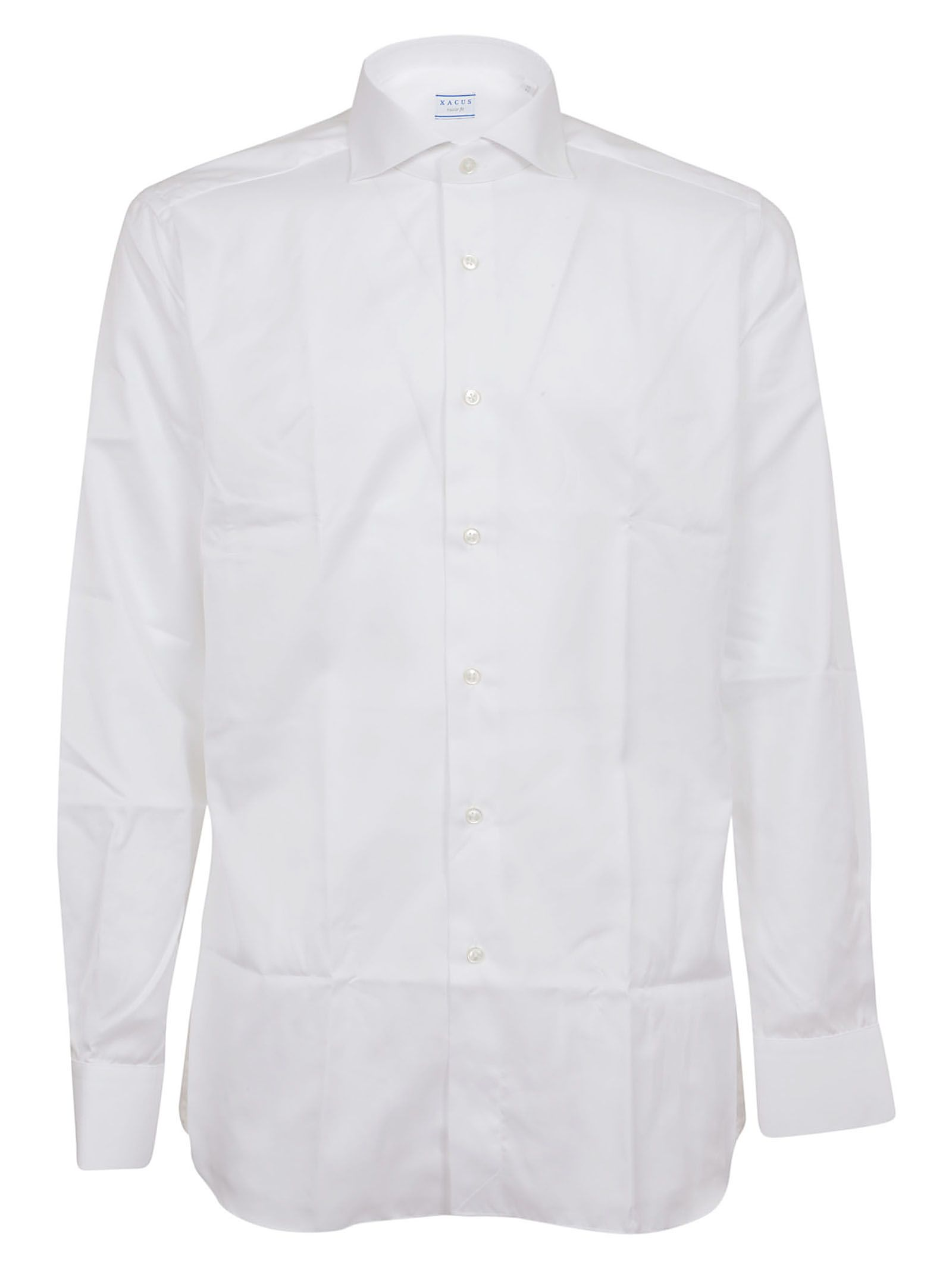XACUS Textured Button Shirt in 001