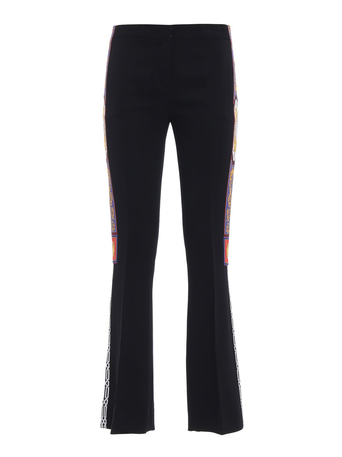 Versace Flared Cropped Trousers