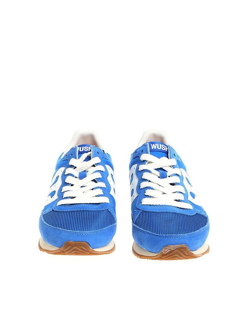 Light blue fabric sneakers Wushu Ruyi rkqgBv