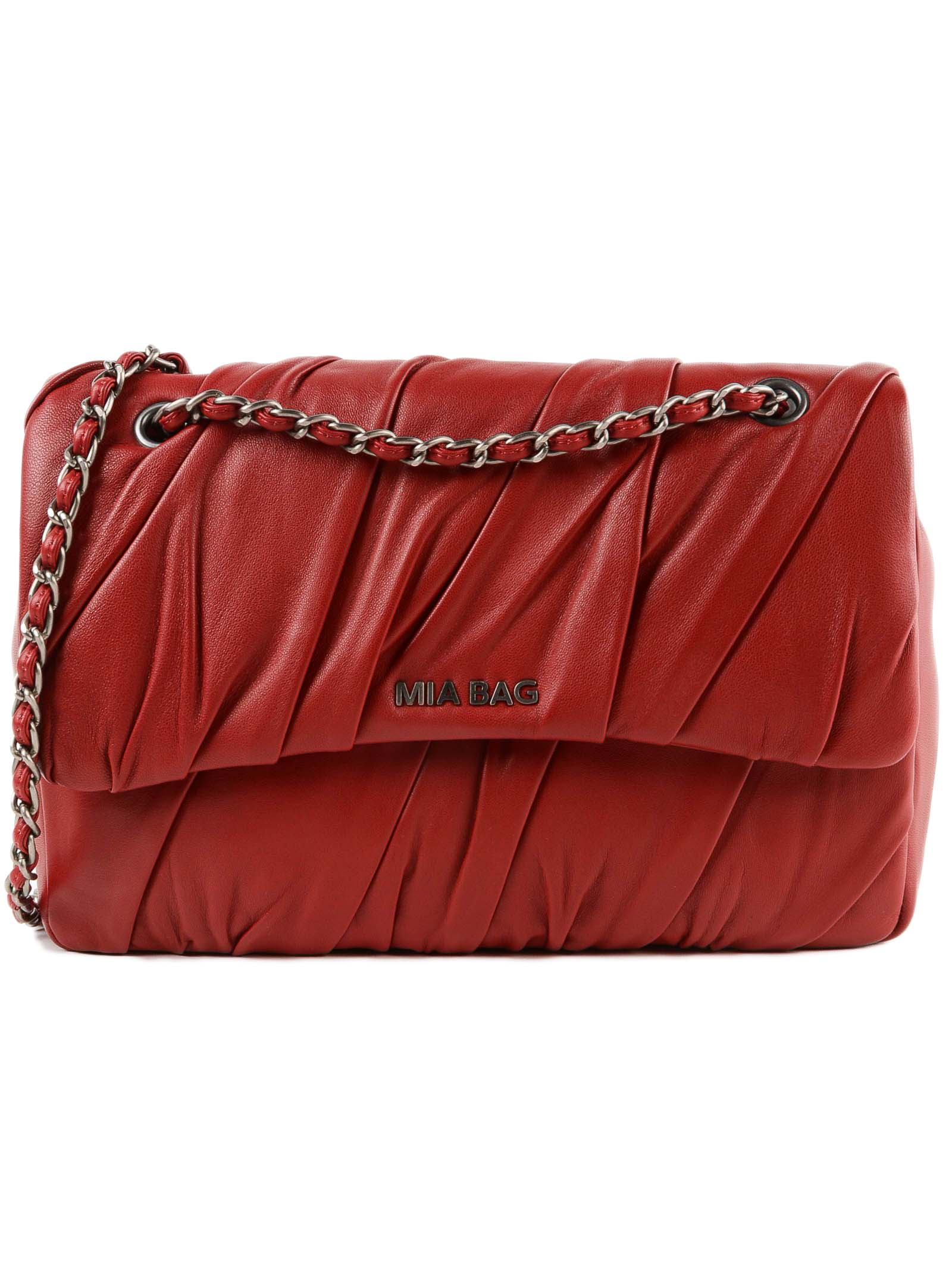 MIA BAG Trac Plisse in Red