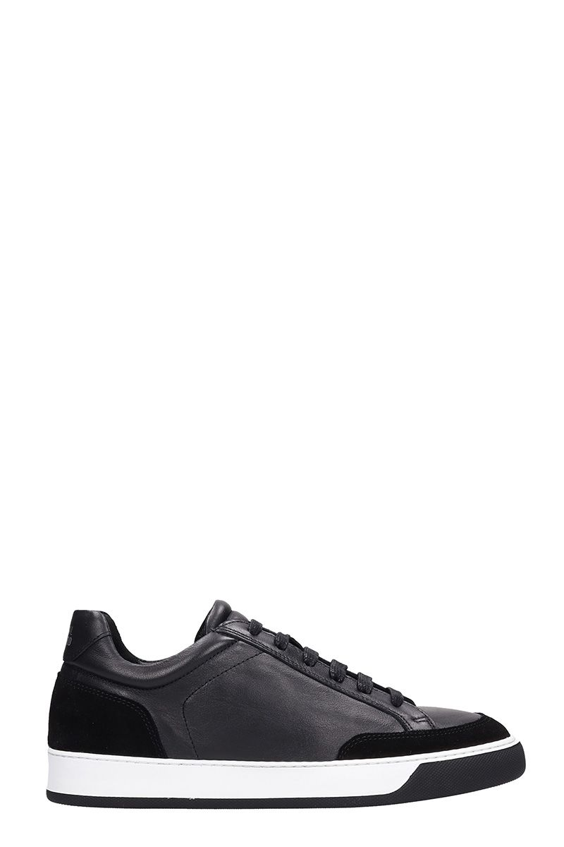 NATIONAL STANDARD Edition 6 Black Leather Sneakers