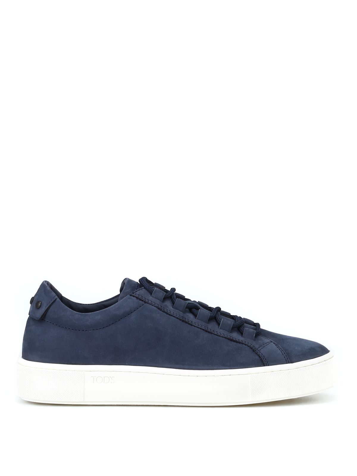 Soft Nubuck Blue Sneakers